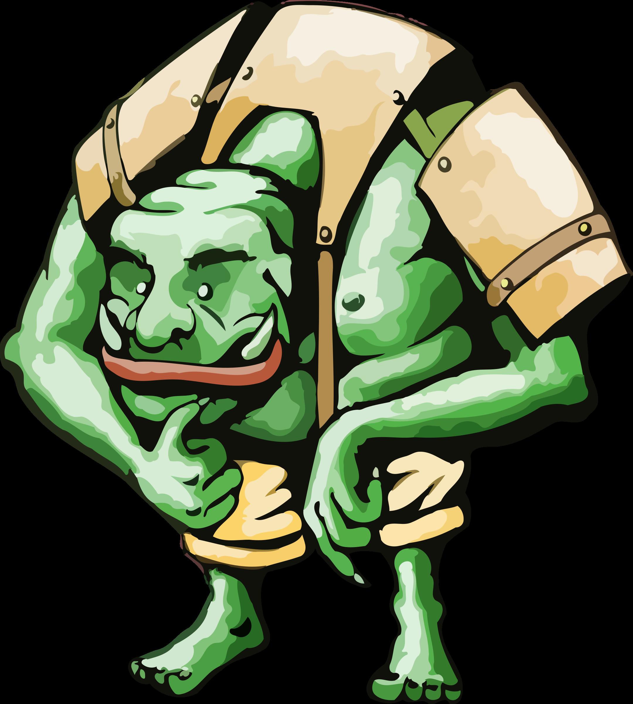 Ogre (simplified) by Firkin