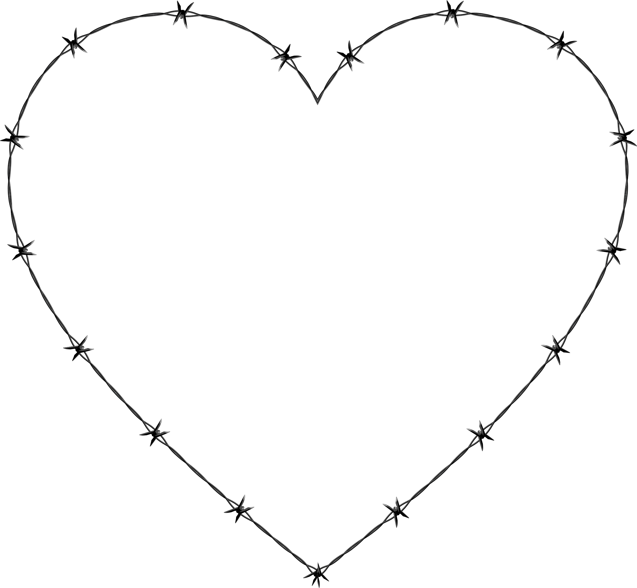Barbed Wire Heart by GDJ