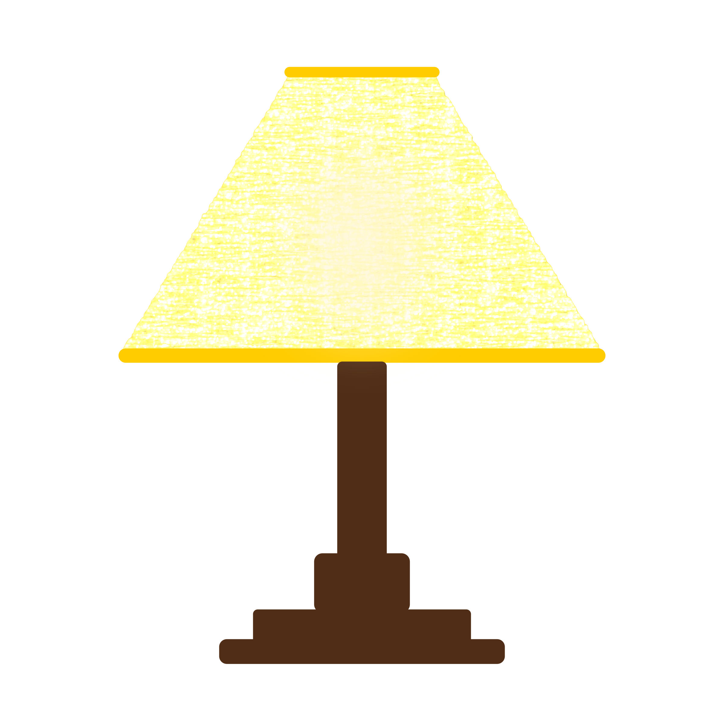 Colored Lamp Shades clipart - yellow lamp shade-simple-three-color