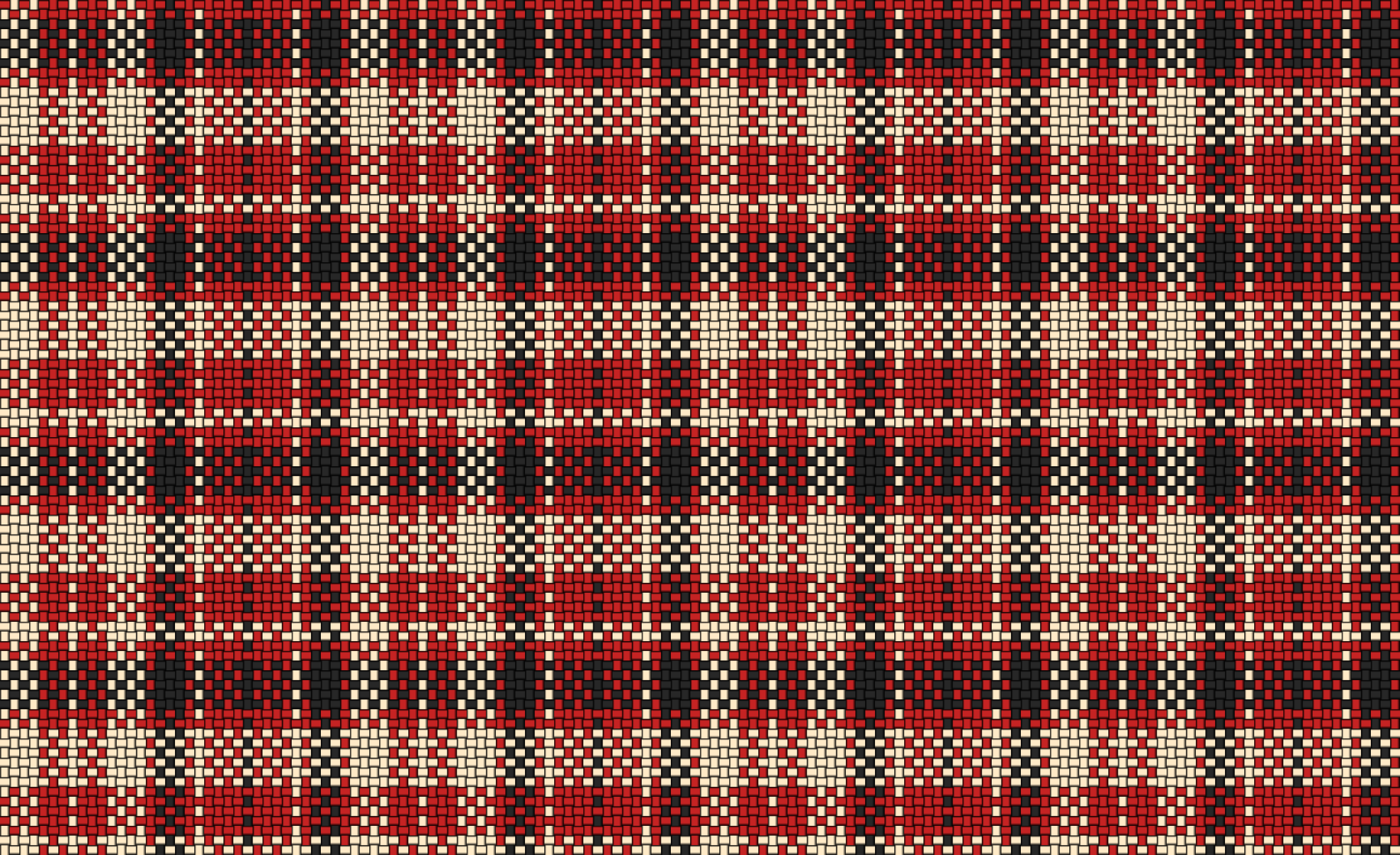 Woven Plaid Cloth Red by gubrww2