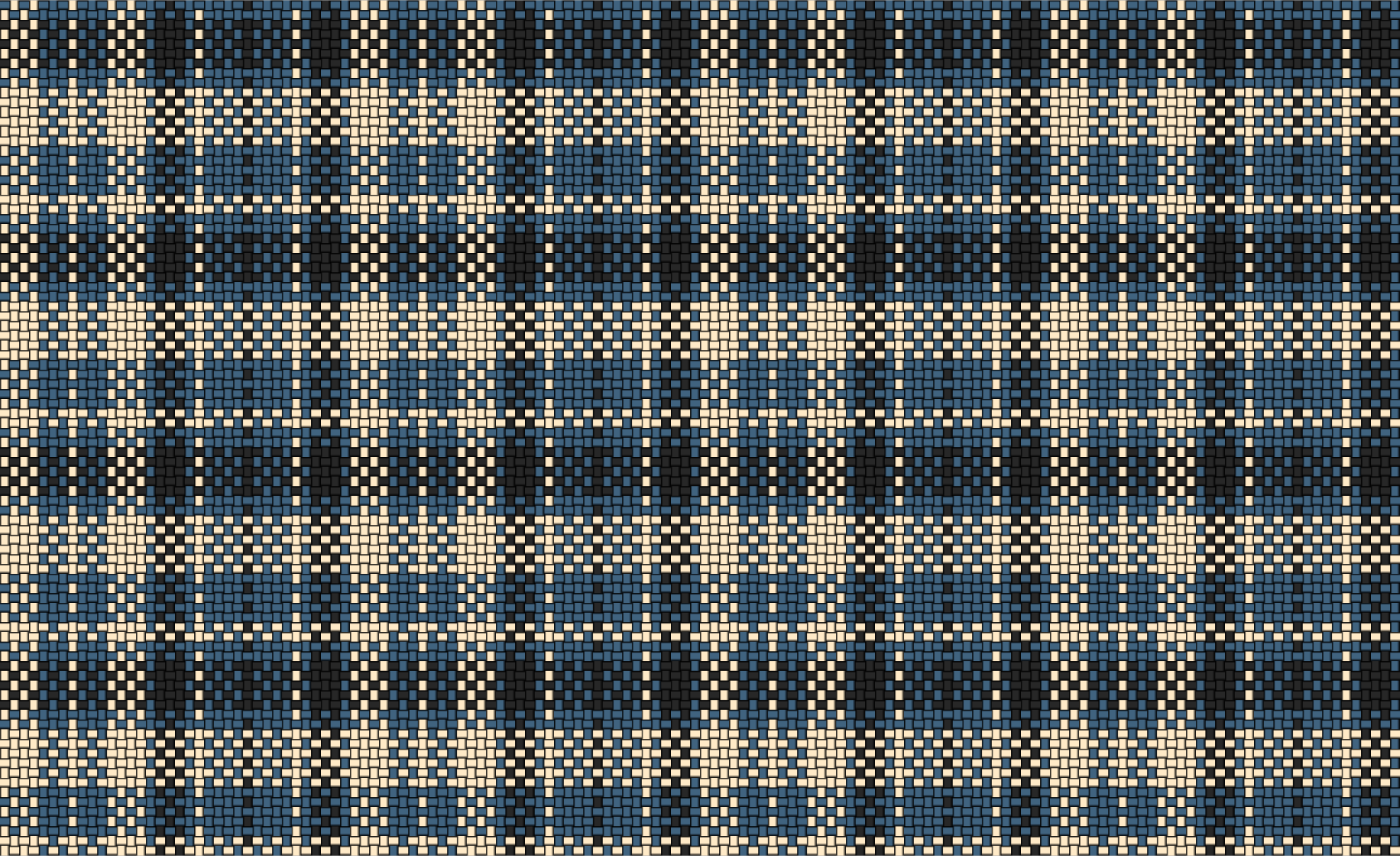 Woven Plaid Cloth Blue by gubrww2