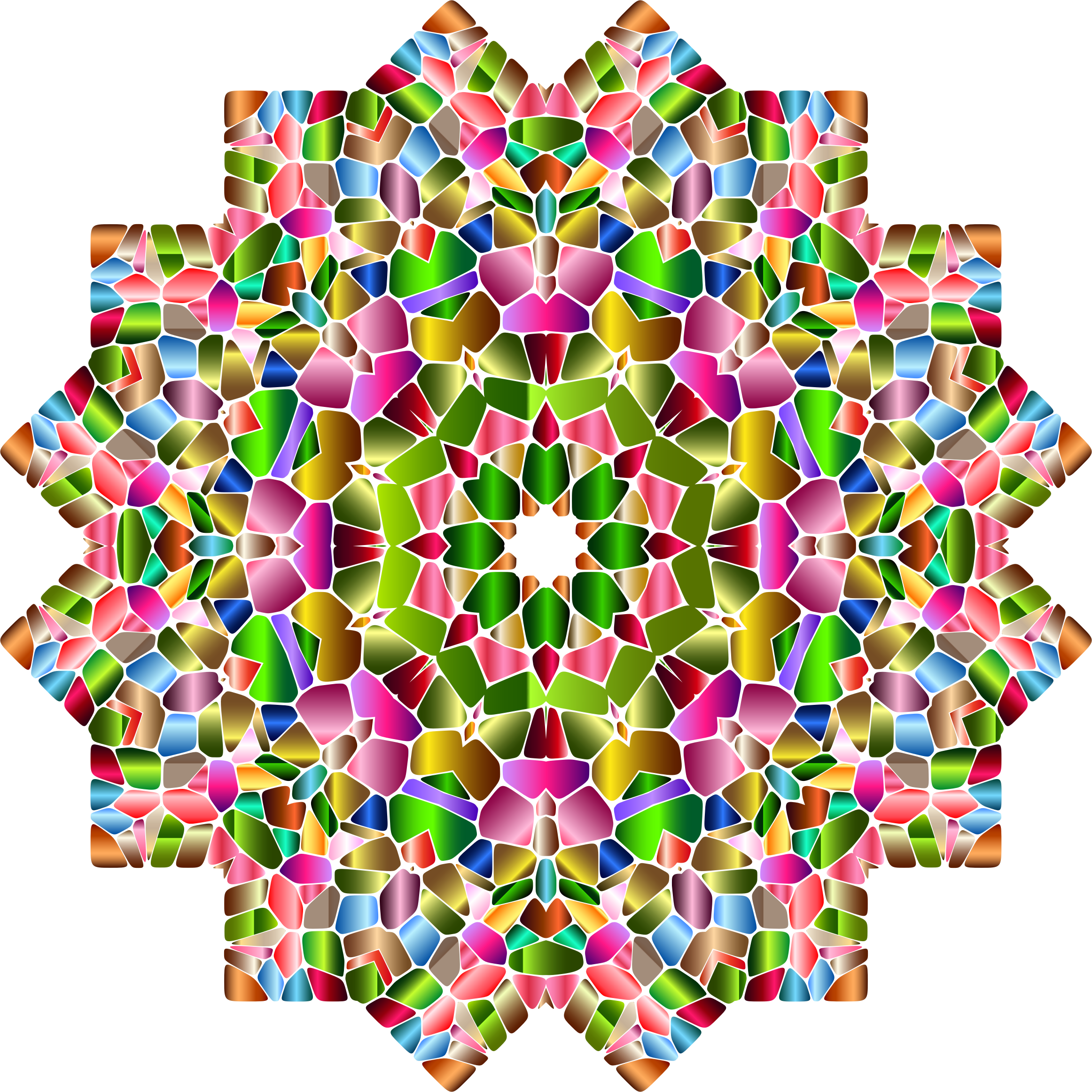Chromatic Geometry 2 by GDJ