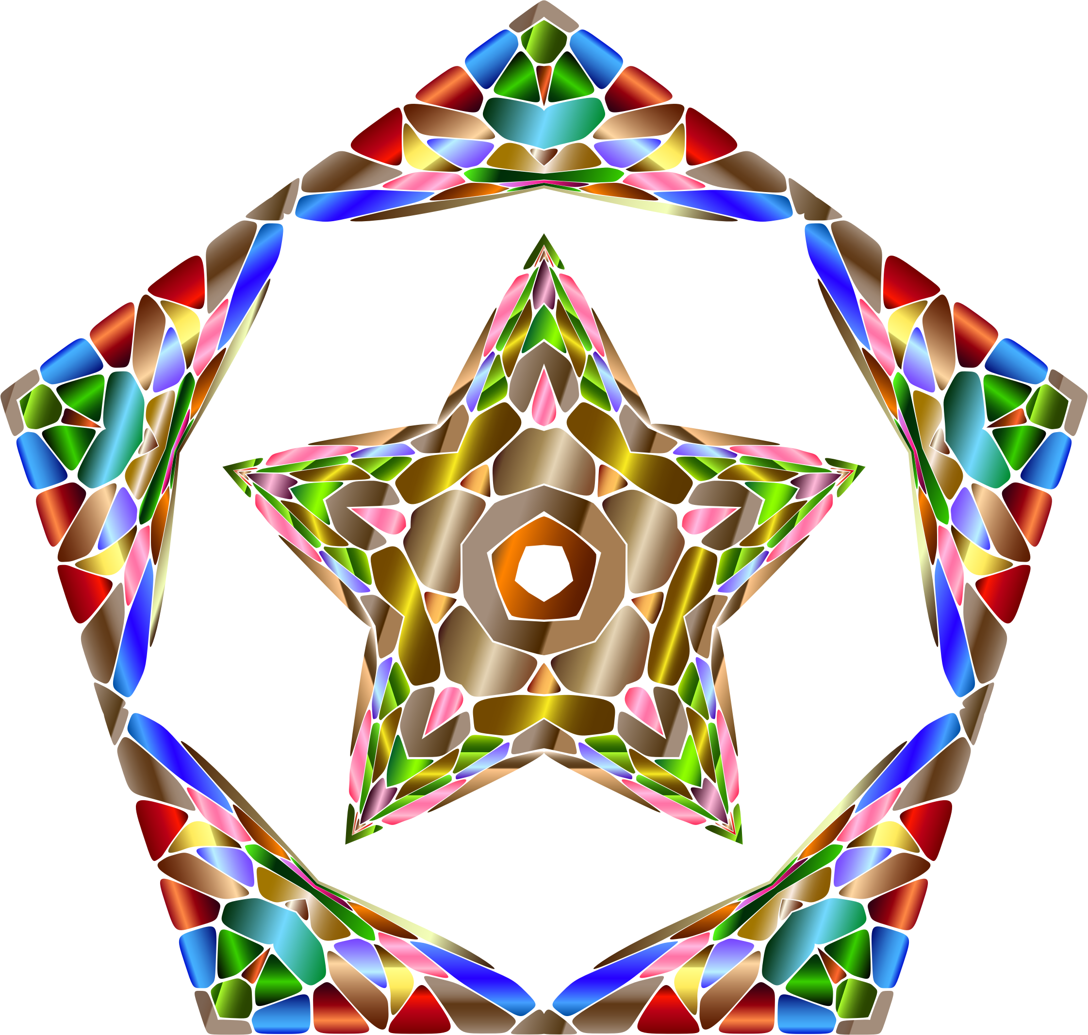 Chromatic Geometry 5 by GDJ