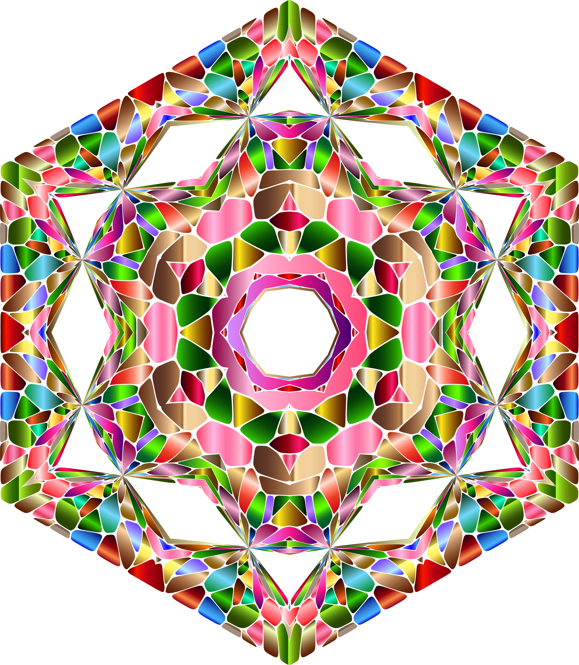 Chromatic Geometry 6 by GDJ