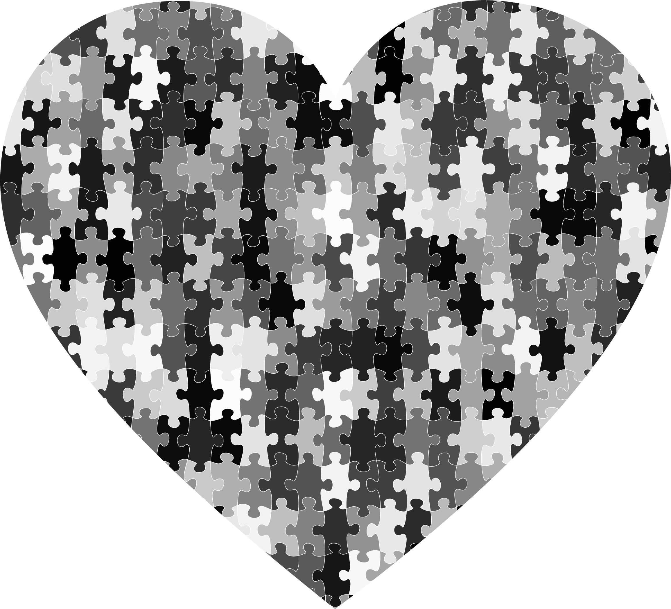 Puzzle Heart by GDJ