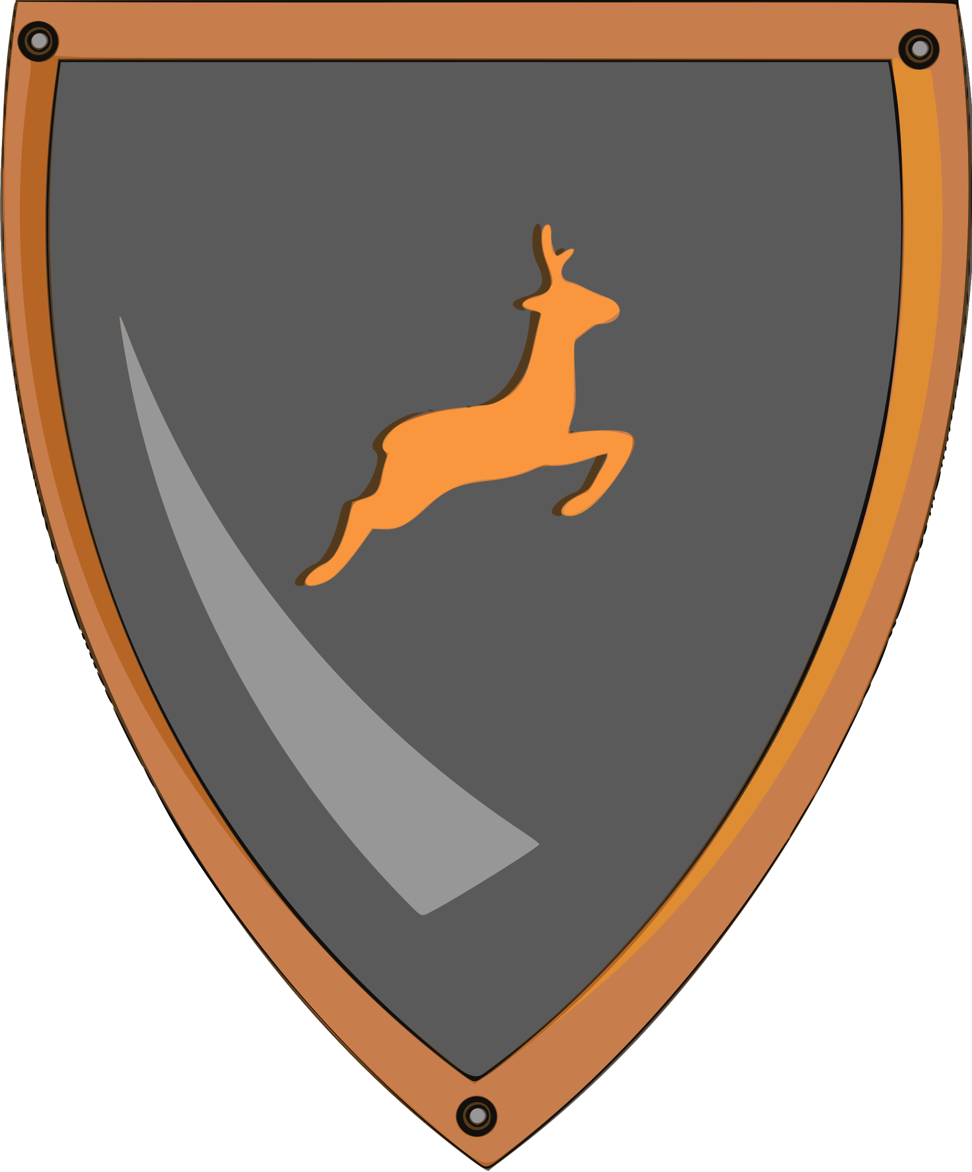 Deer shield by Firkin