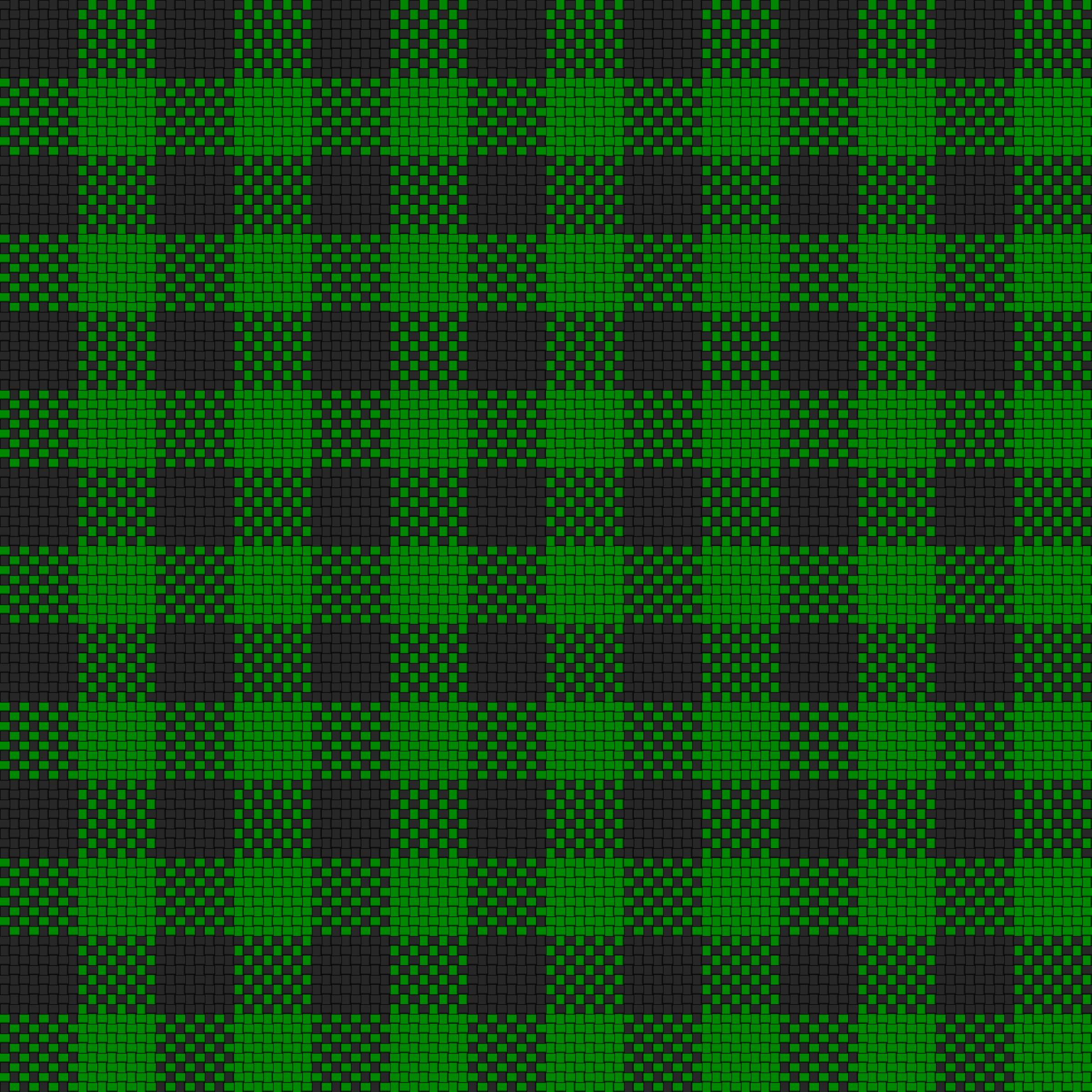 clipart checker plaid cloth black green
