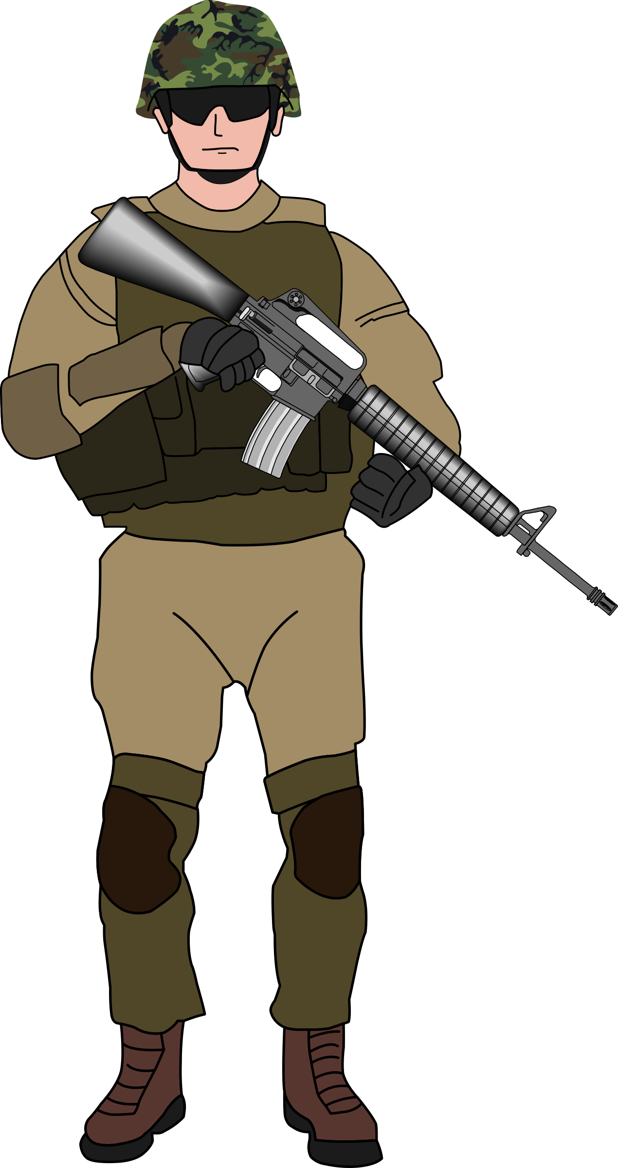 Free to Use & Public Domain Soldier Clip Art