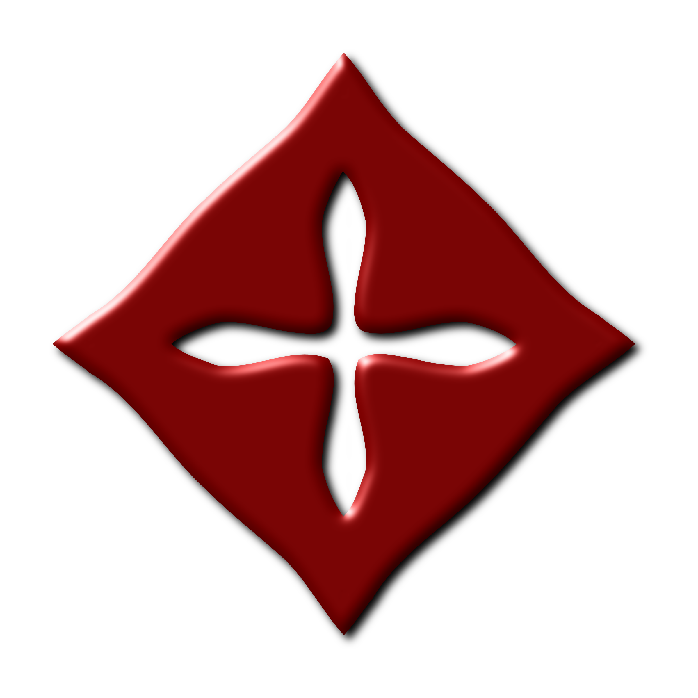 Cross symbol 2 by Firkin