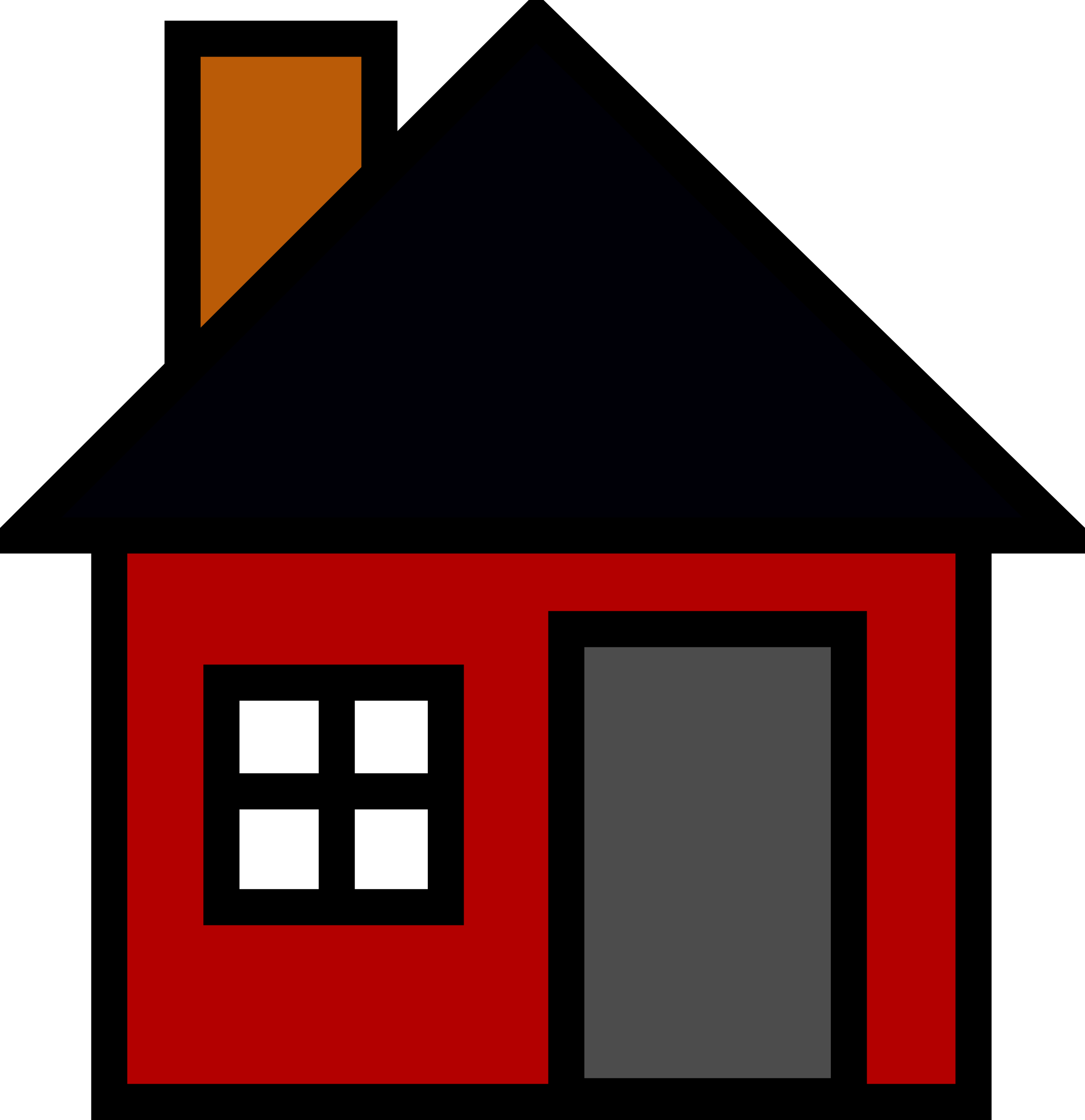 Small House by Anonymous