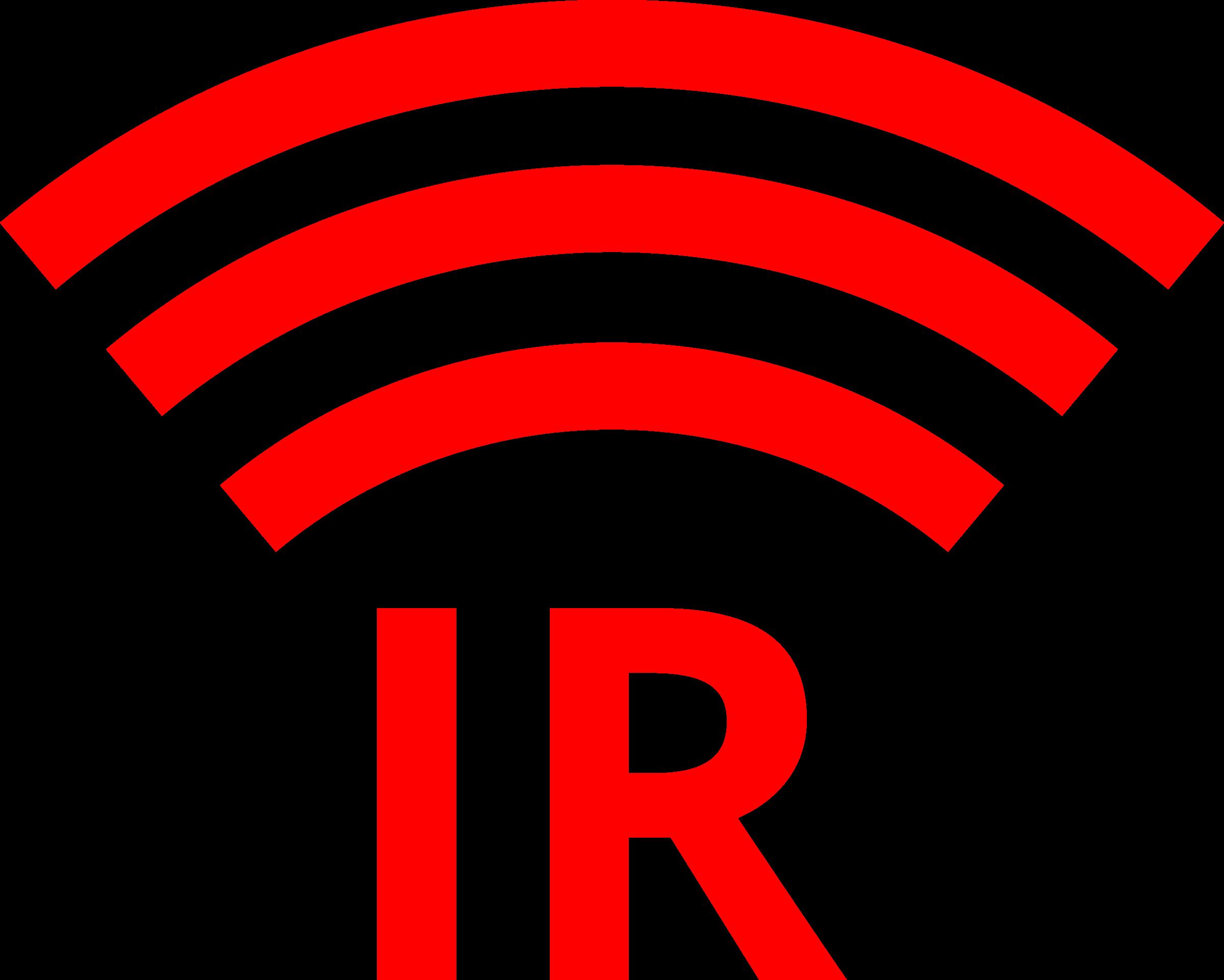 clipart ir symbol logo