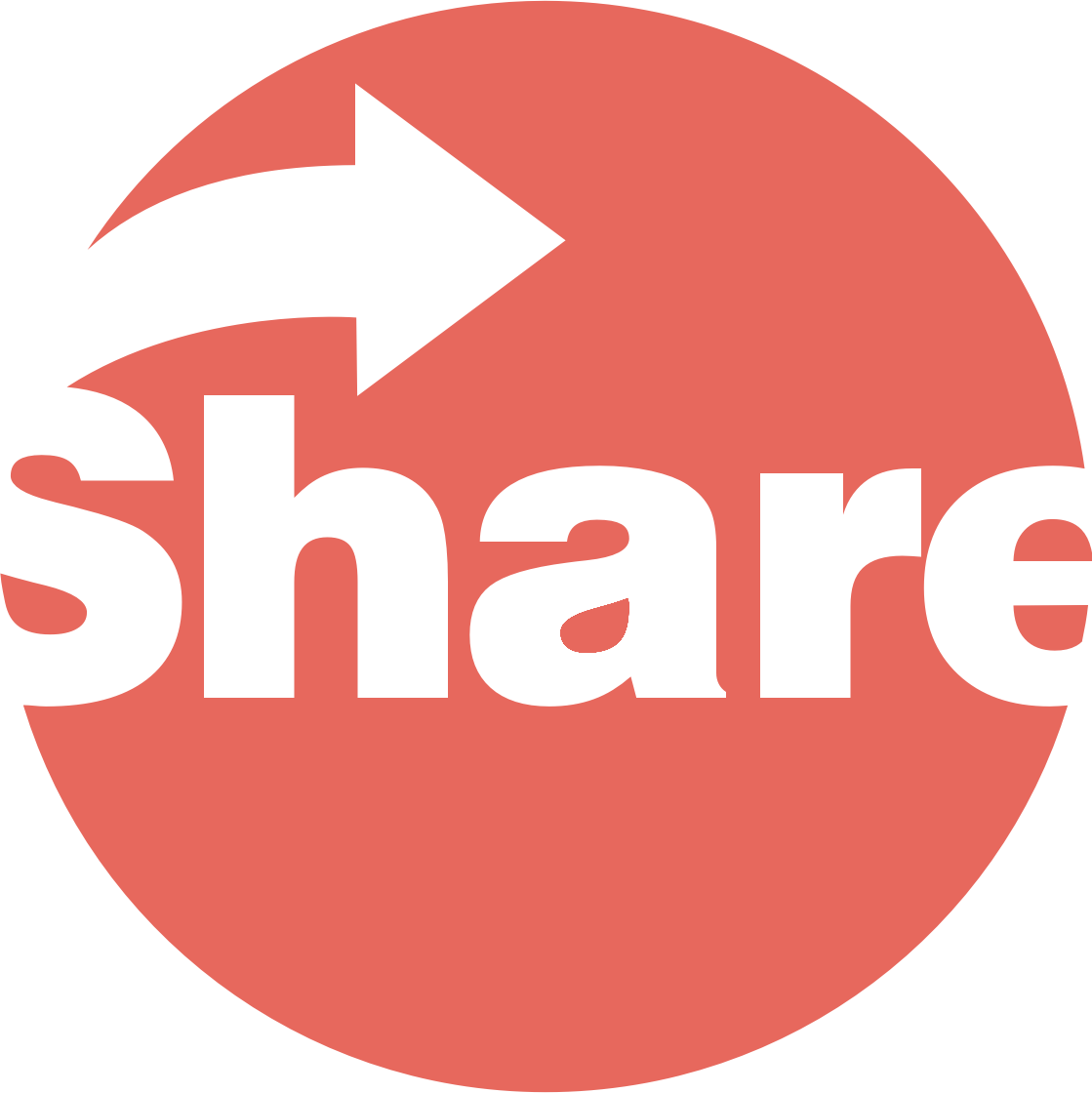 Share Button by GoodFreeArt
