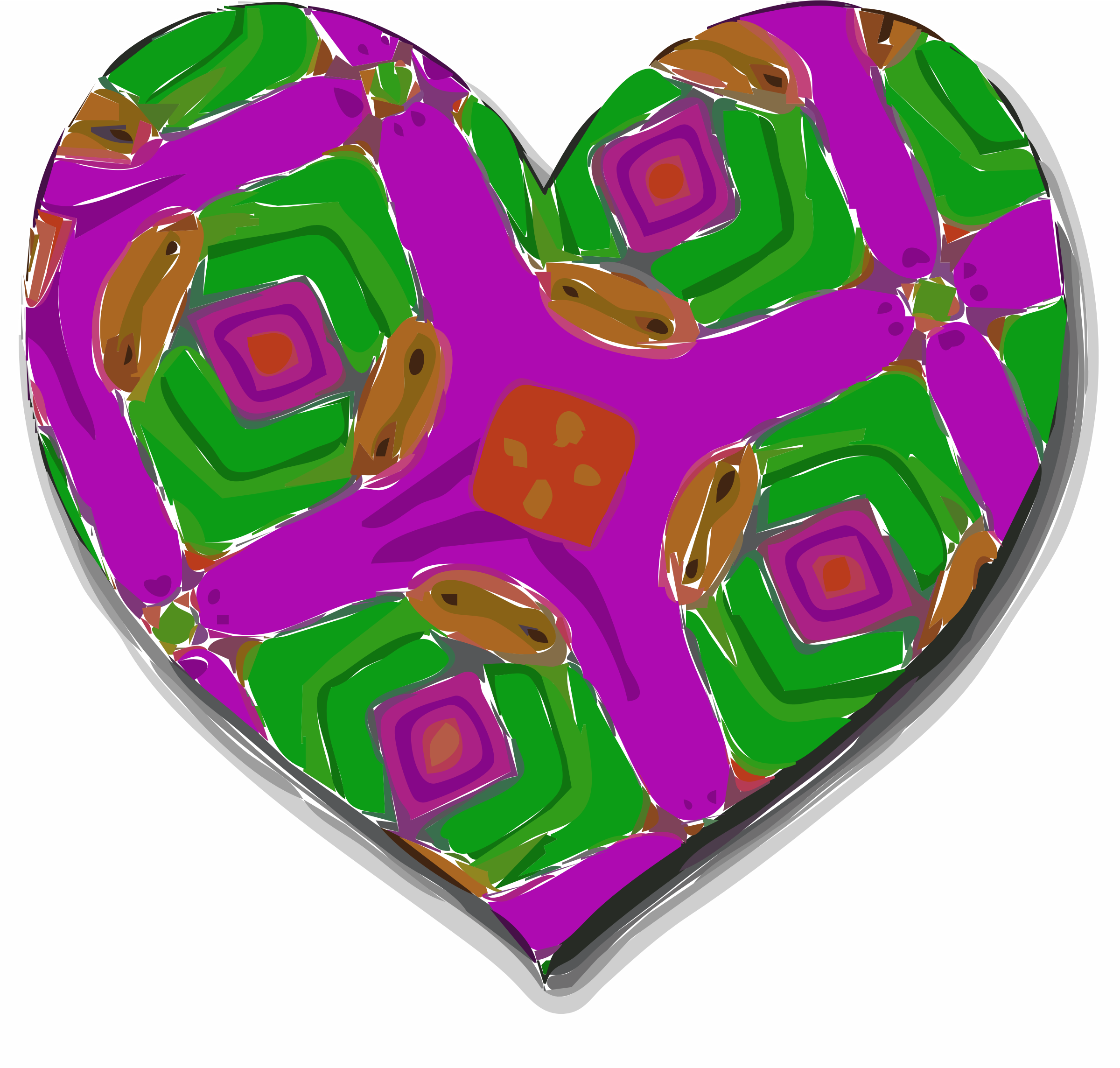 Kaleidoscope Hearts part 2. by danab10