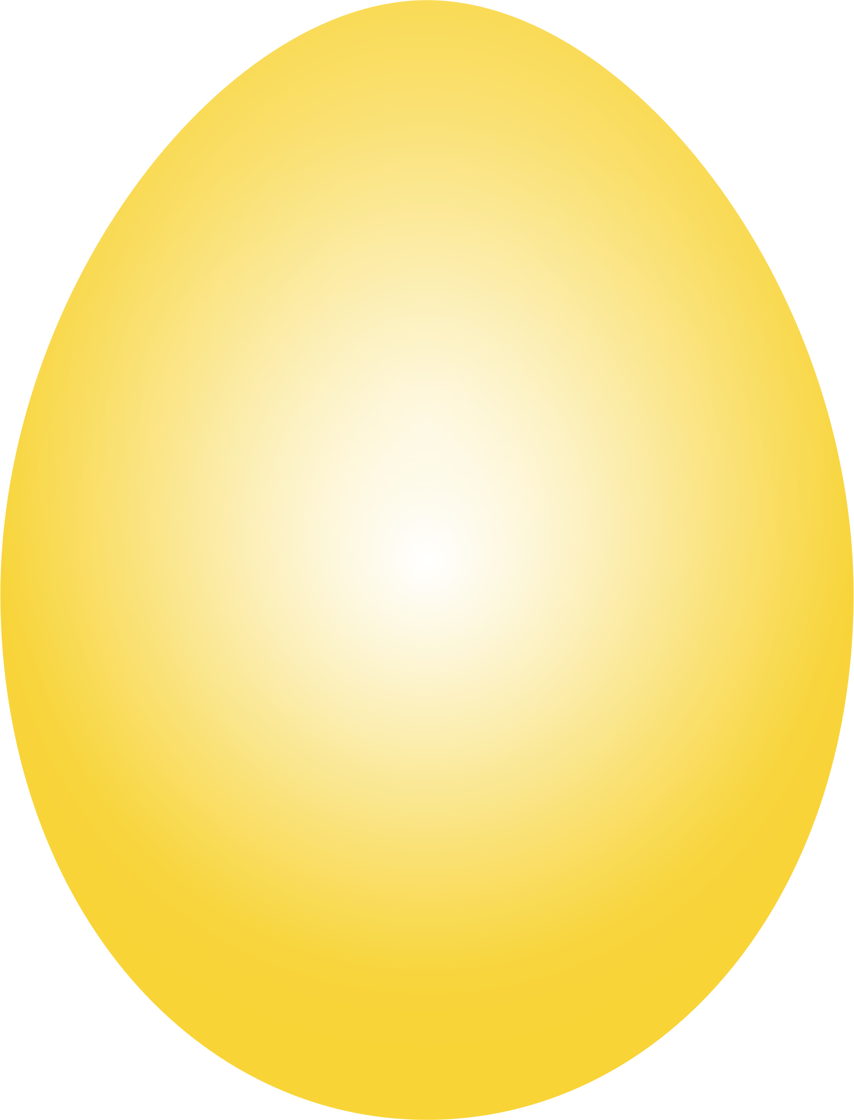 Yellow Easter Egg by GDJ