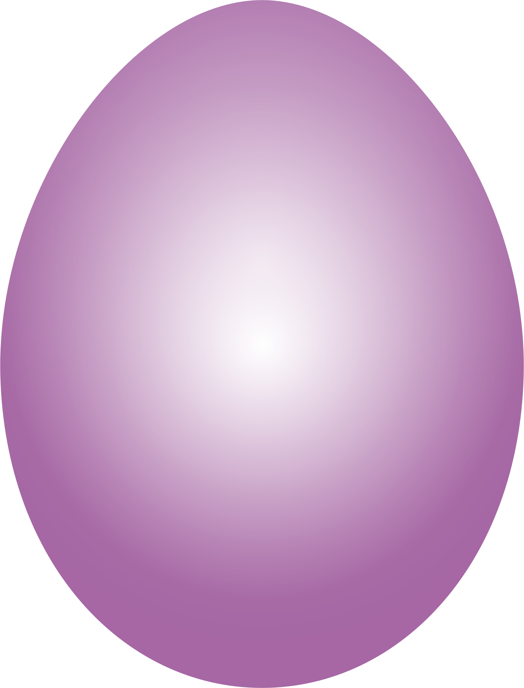 Plum Easter Egg by GDJ