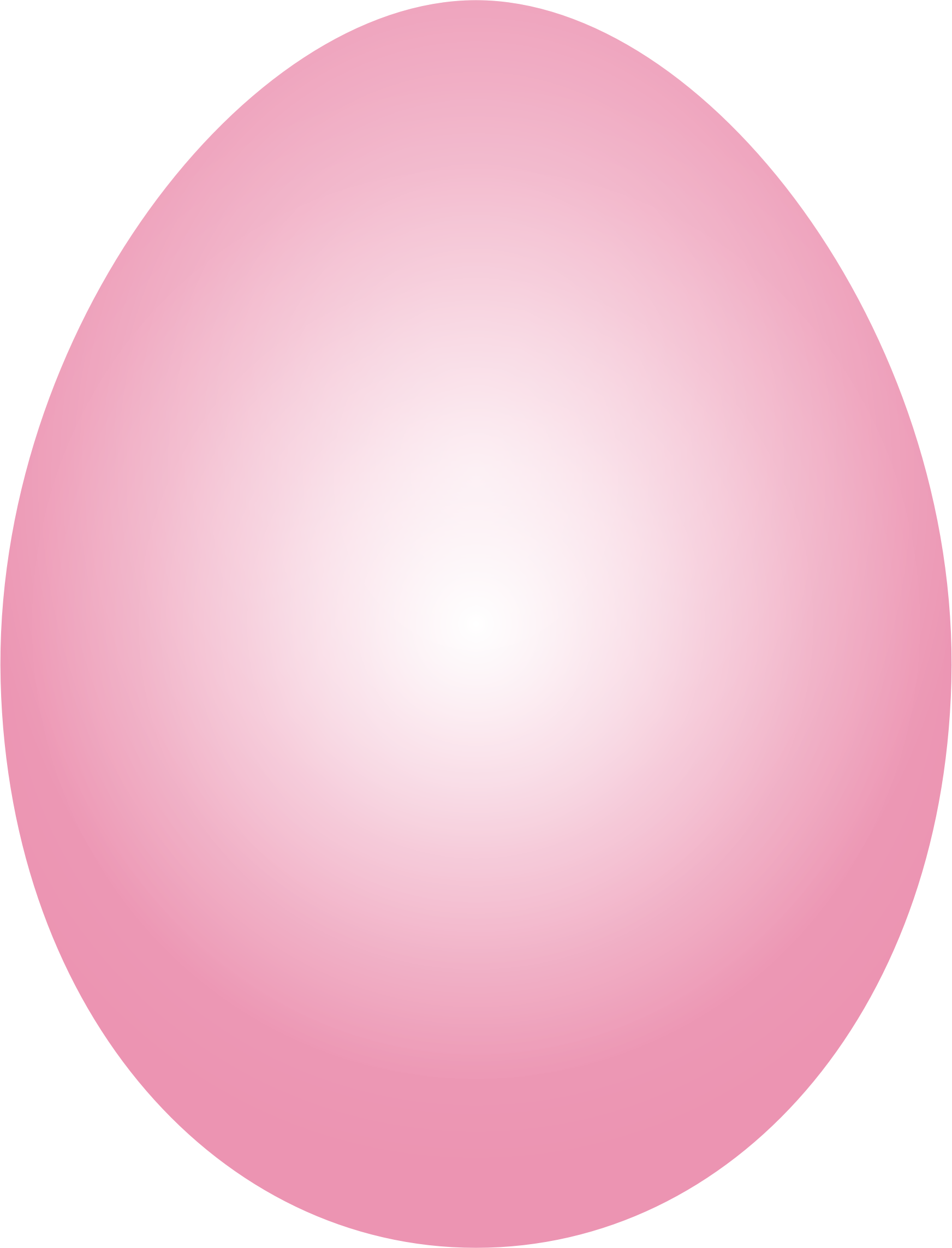 Clipart - Pink Easter Egg