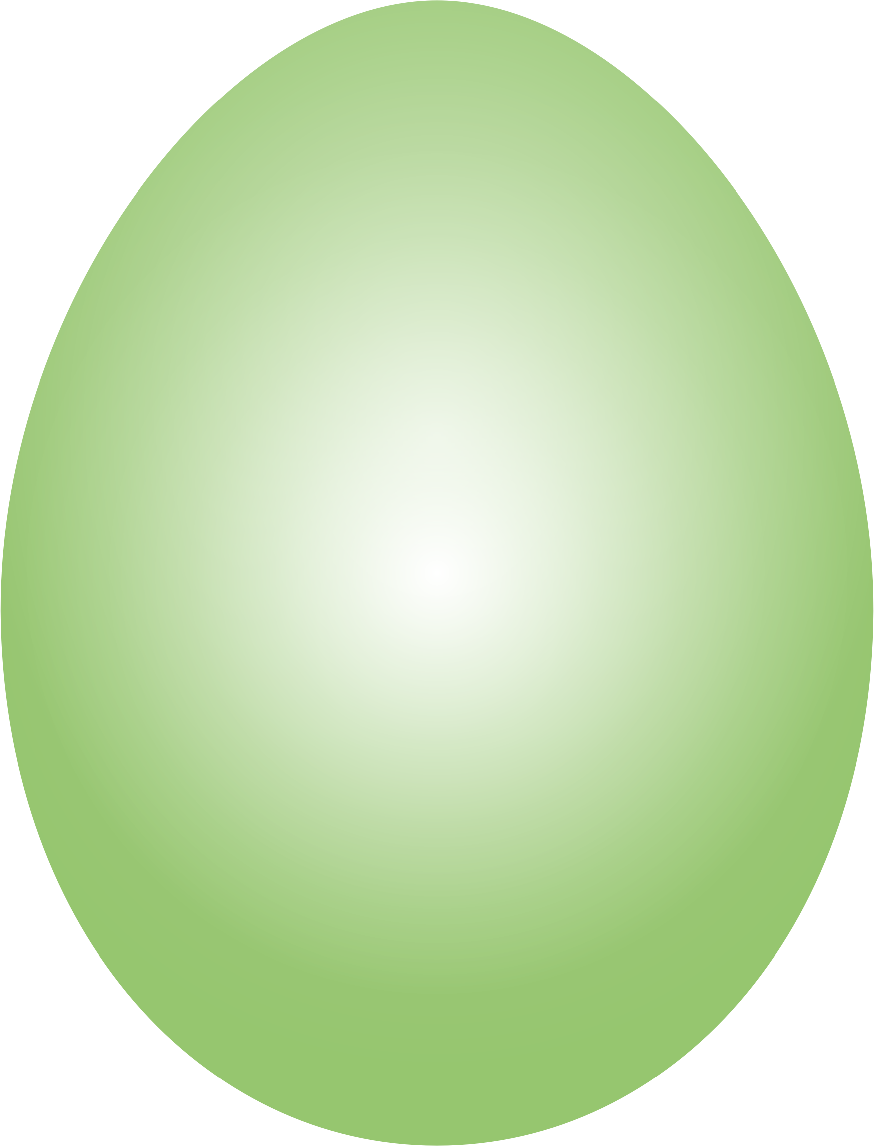 Lime Green Easter Egg by GDJ