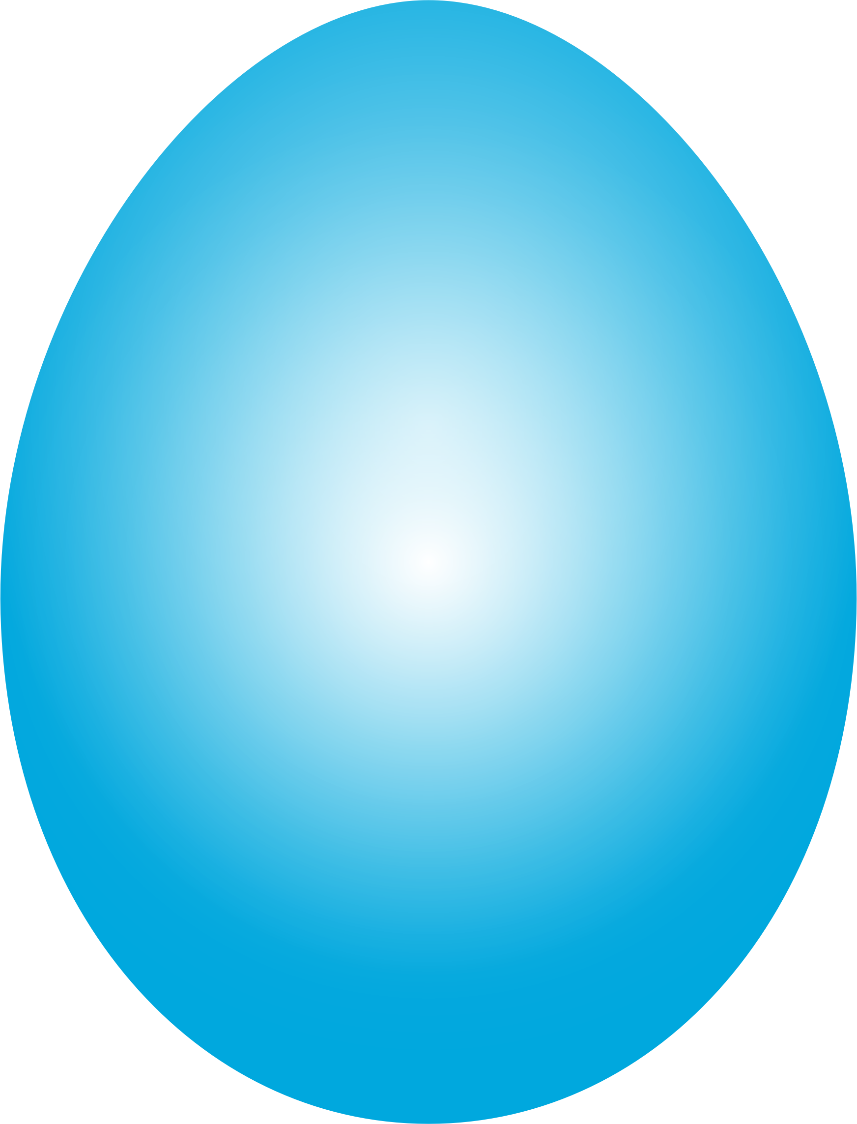 Cyan Easter Egg by GDJ