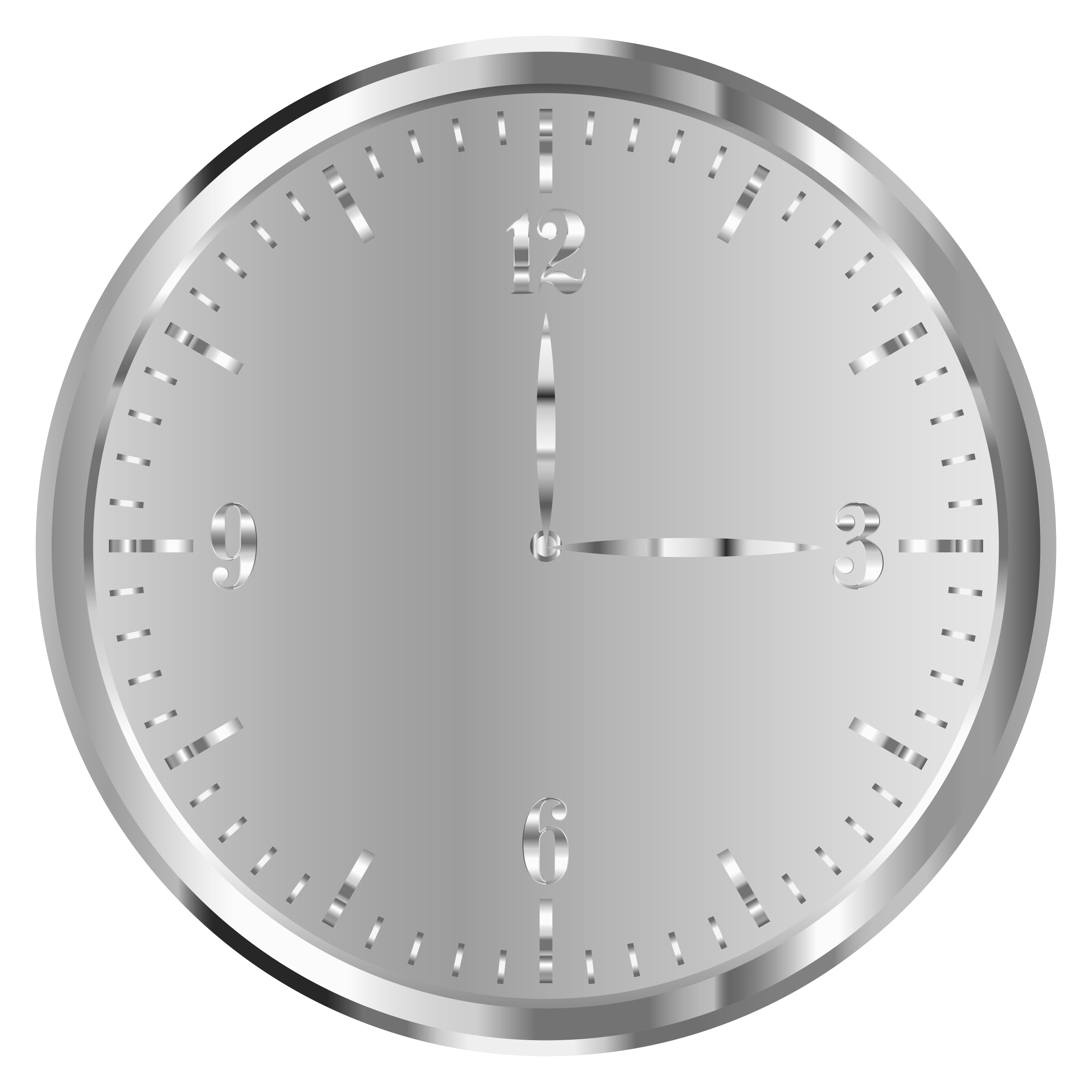 Stainless Steel Clock by GDJ