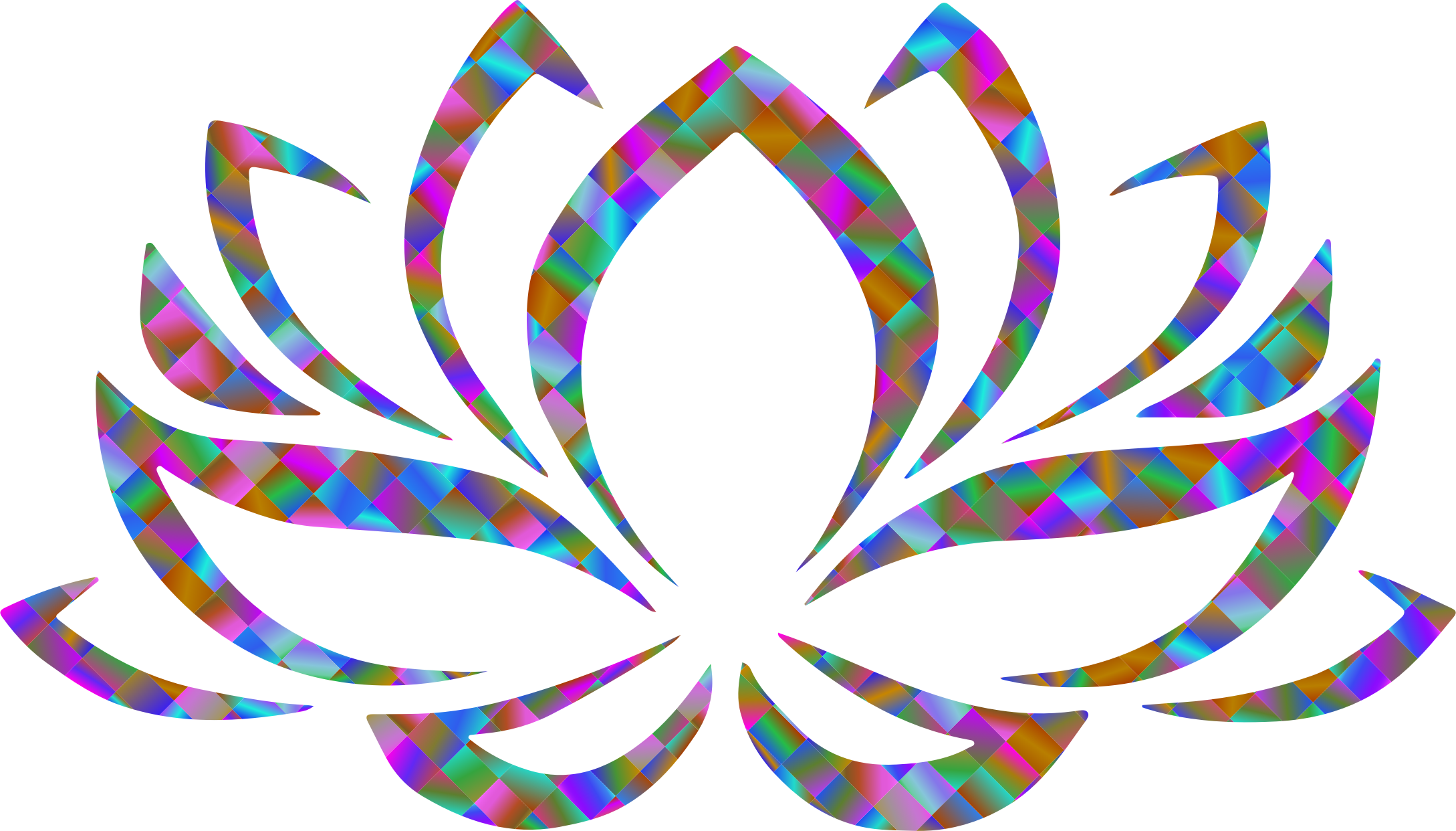 Prismatic Lotus Flower 5 by GDJ