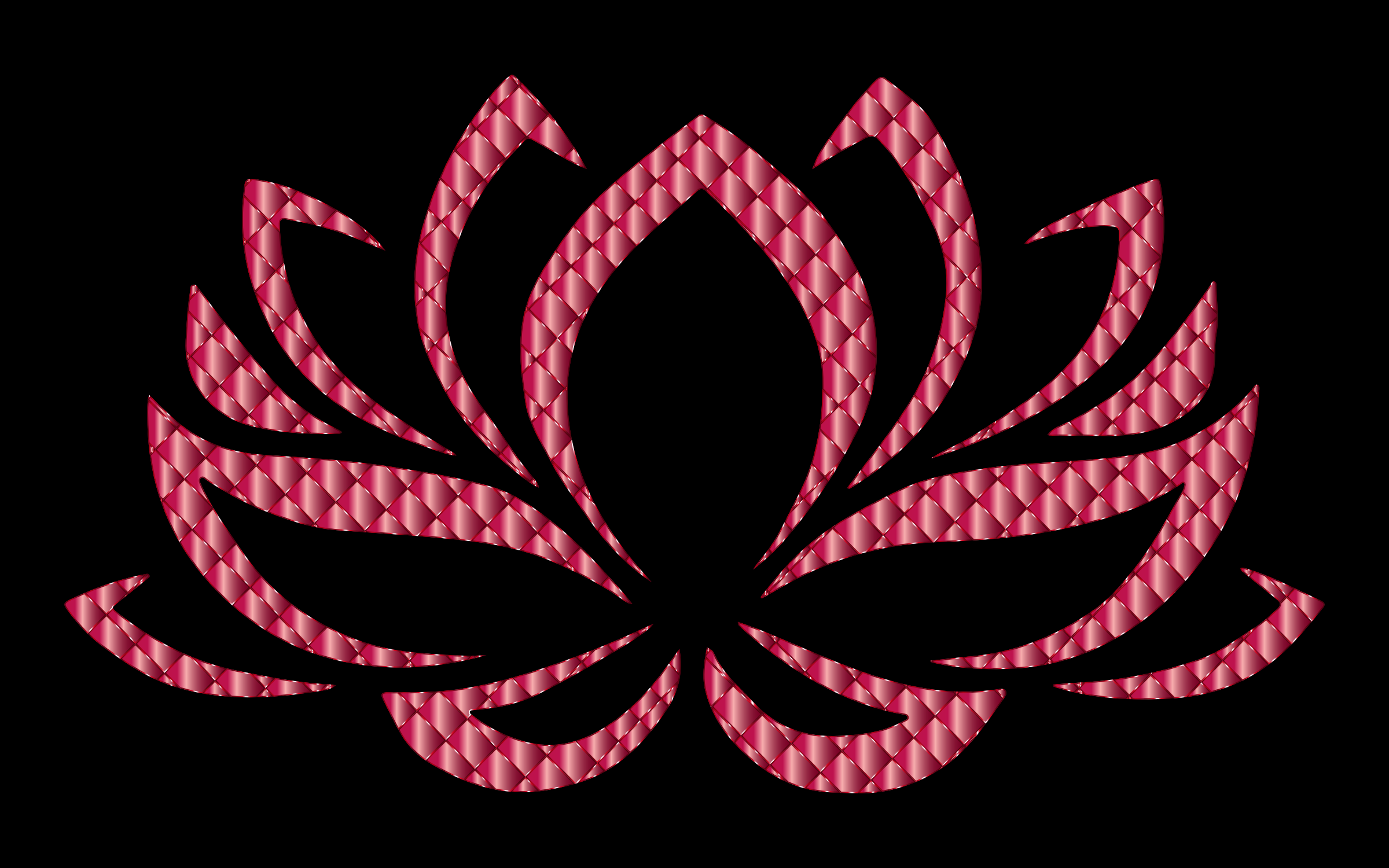 Ruby Lotus Flower by GDJ