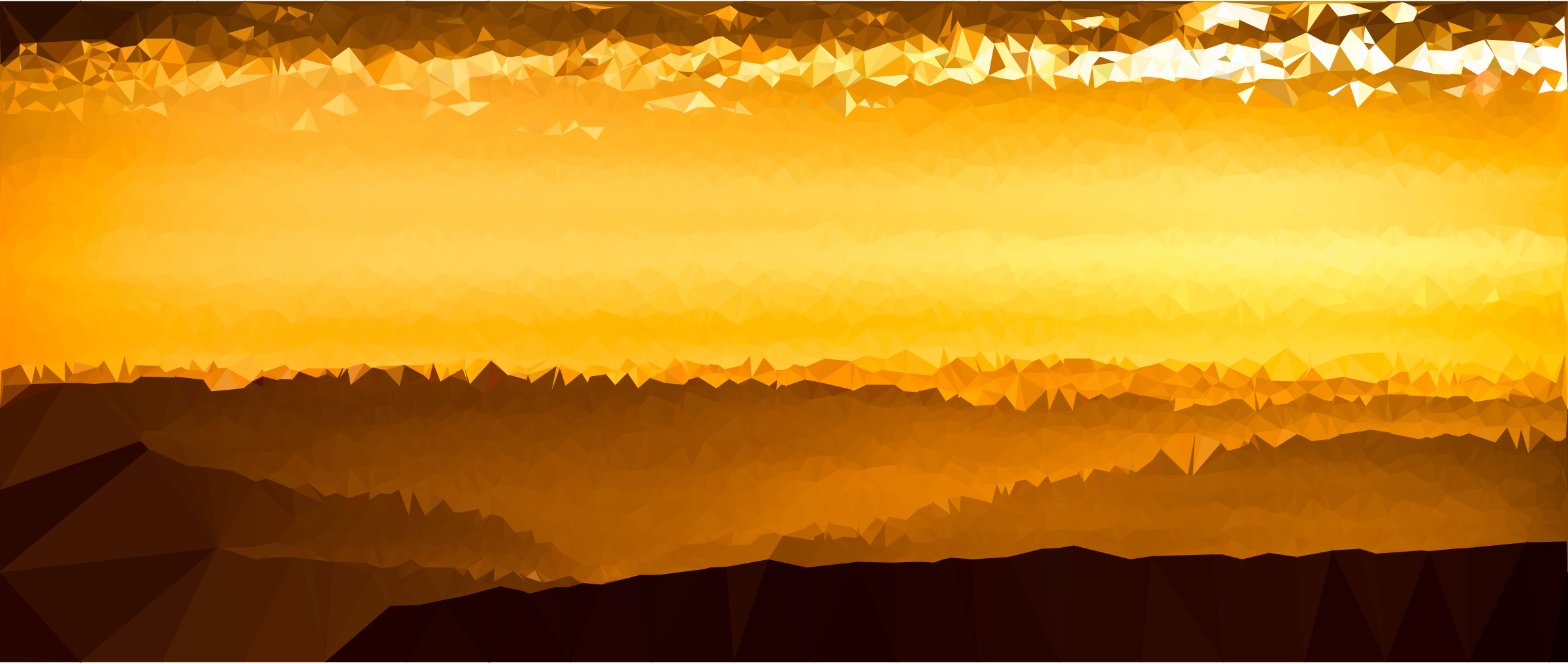 Low Poly Desert Sunset by GDJ