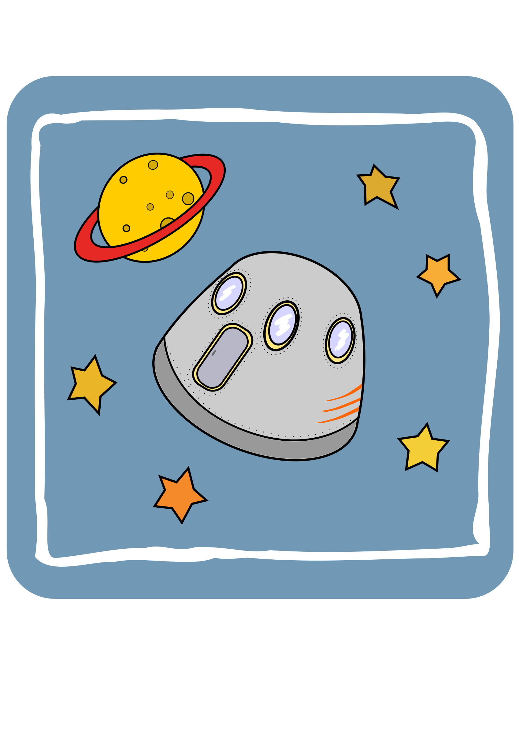 Icon Space capsule  by ejmillan