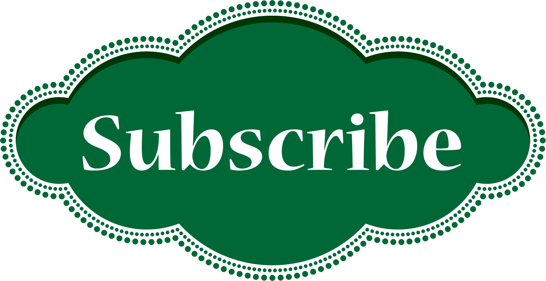 Subscribe Button by GoodFreeArt