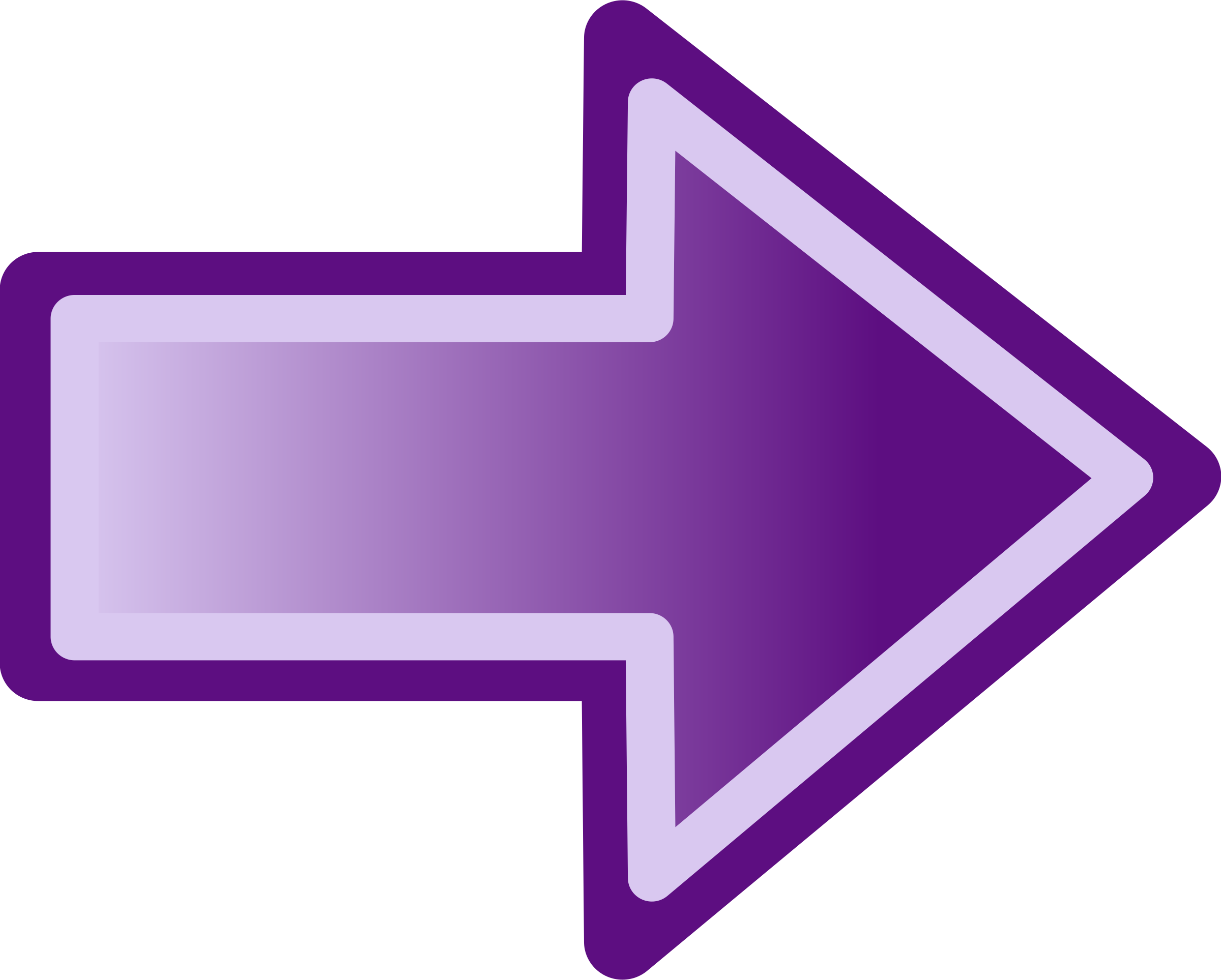 Purple arrow shape by jwalden