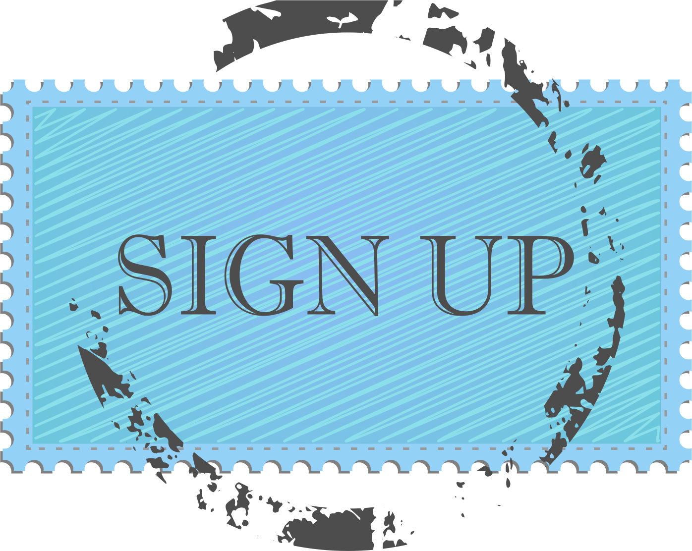 Sign Up Button by GoodFreeArt