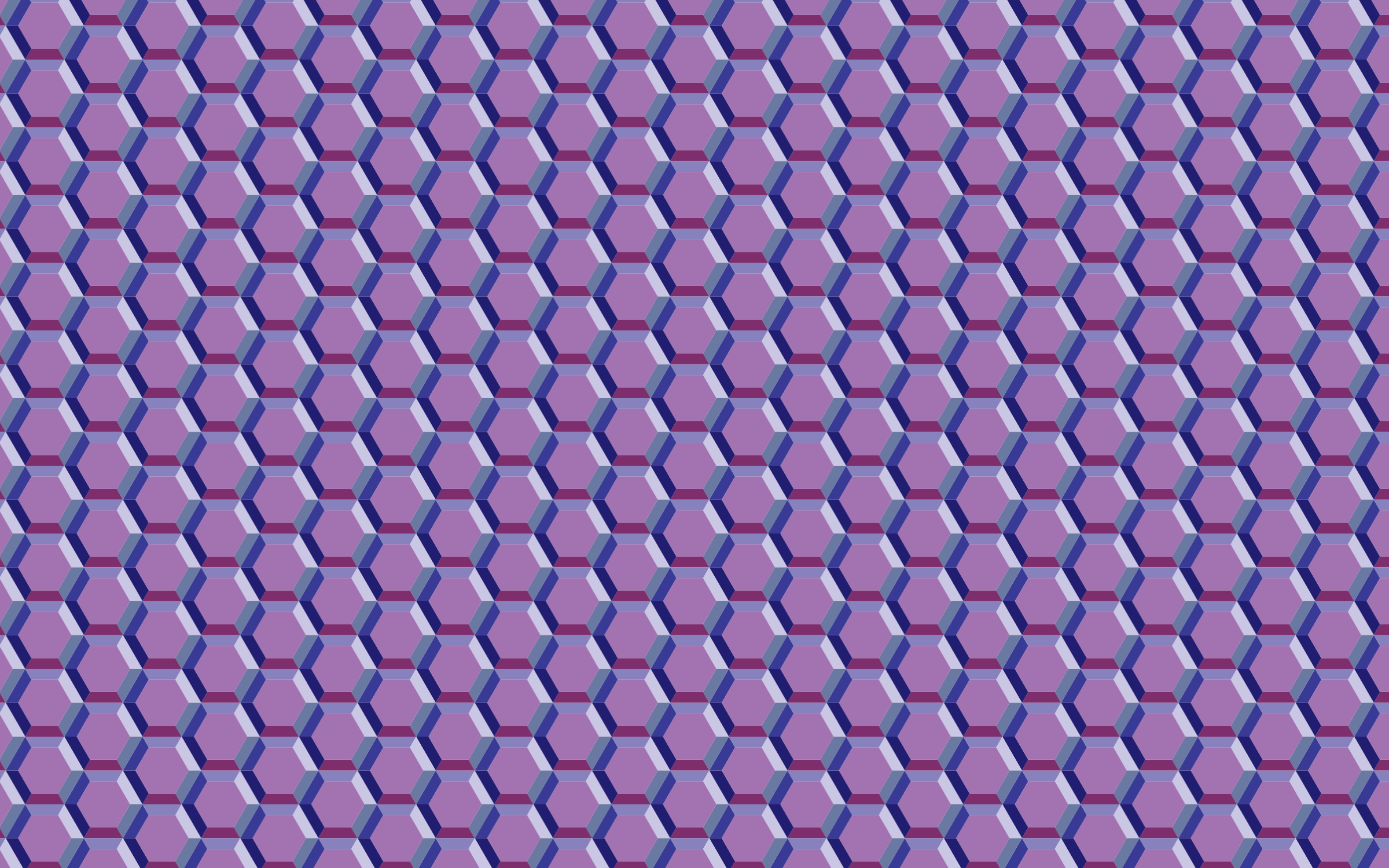 Seamless Hexagonal Gem Pattern by GDJ