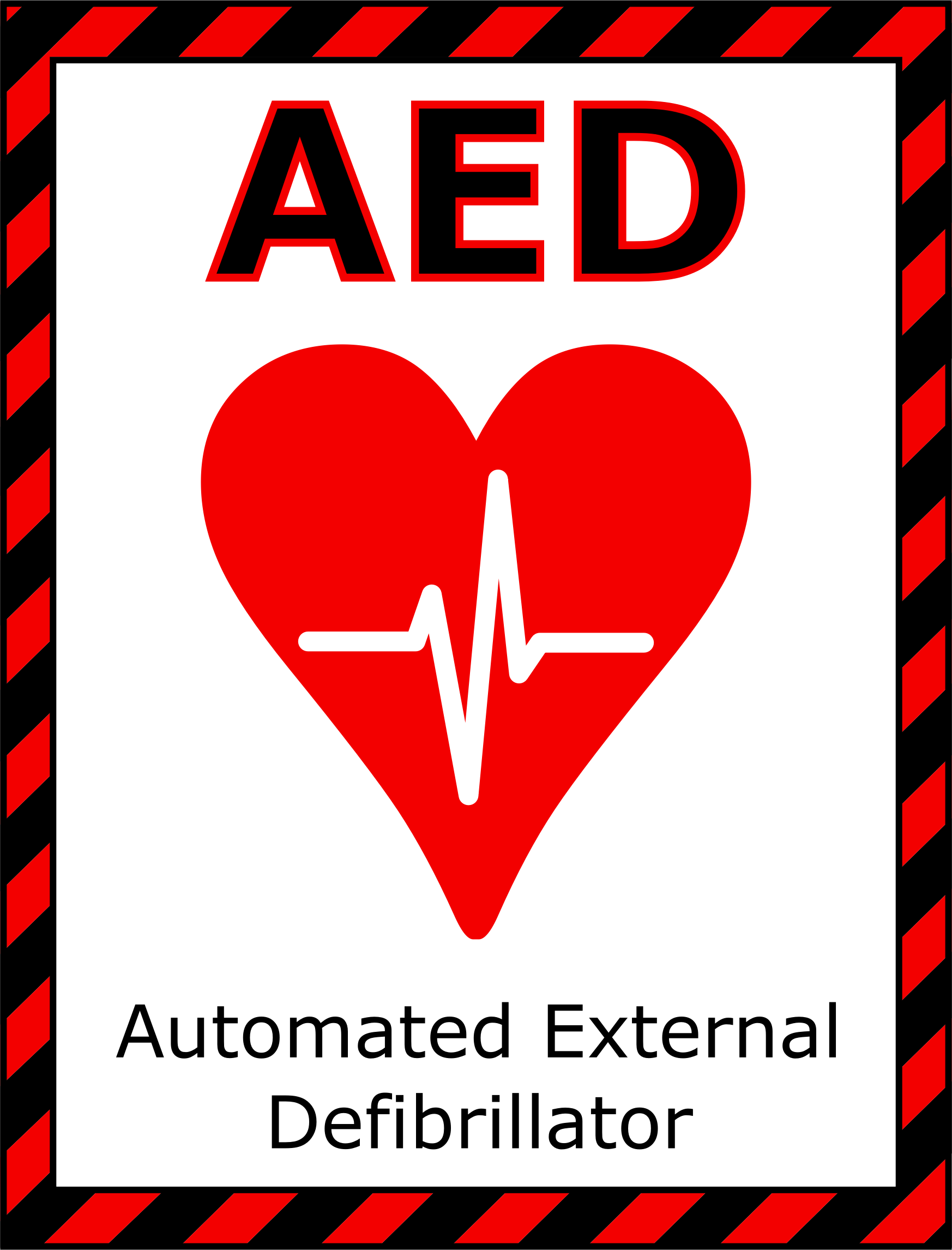 AED Sign 2 by Arvin61r58