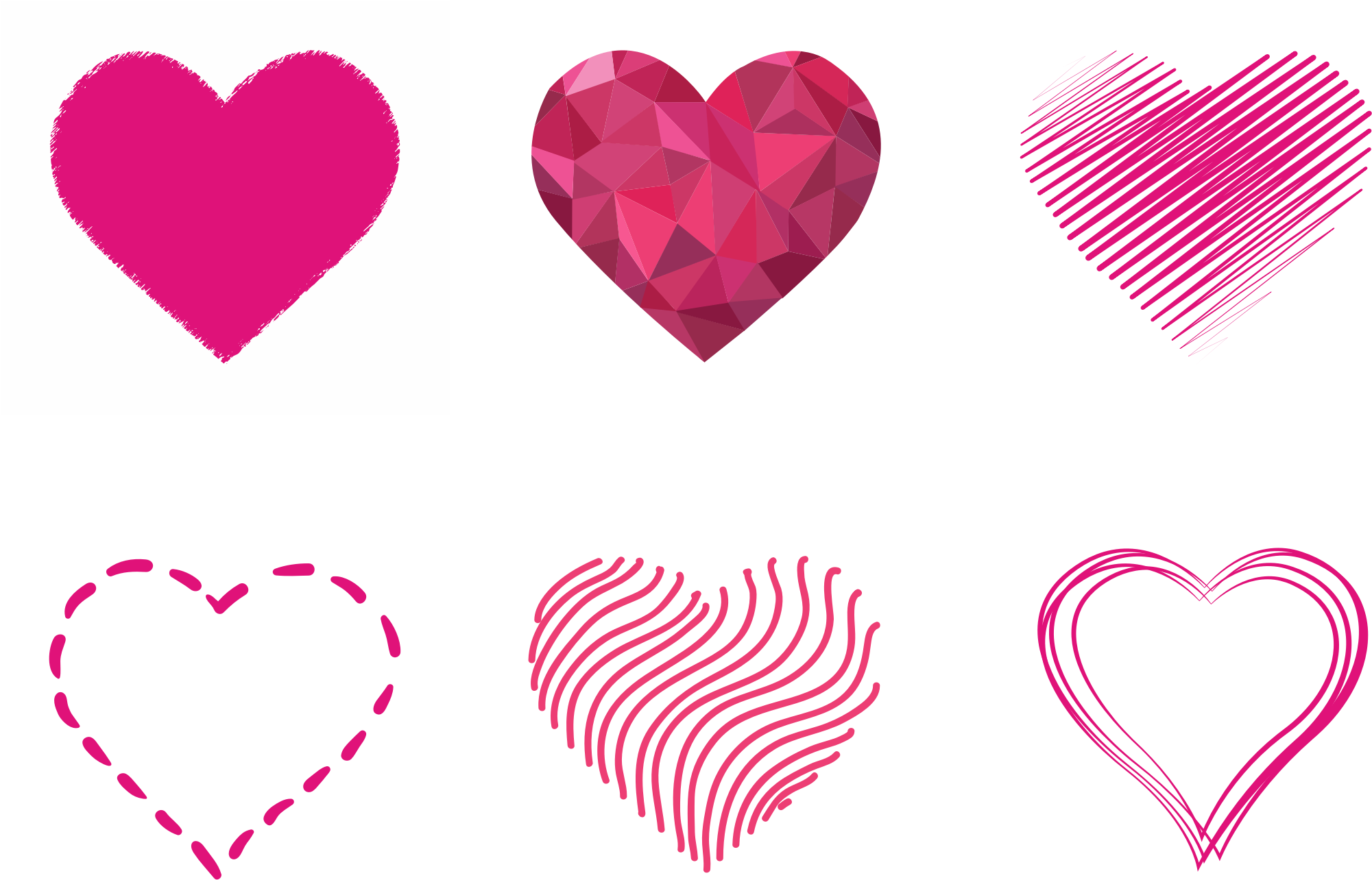 Various Hearts Set by GDJ