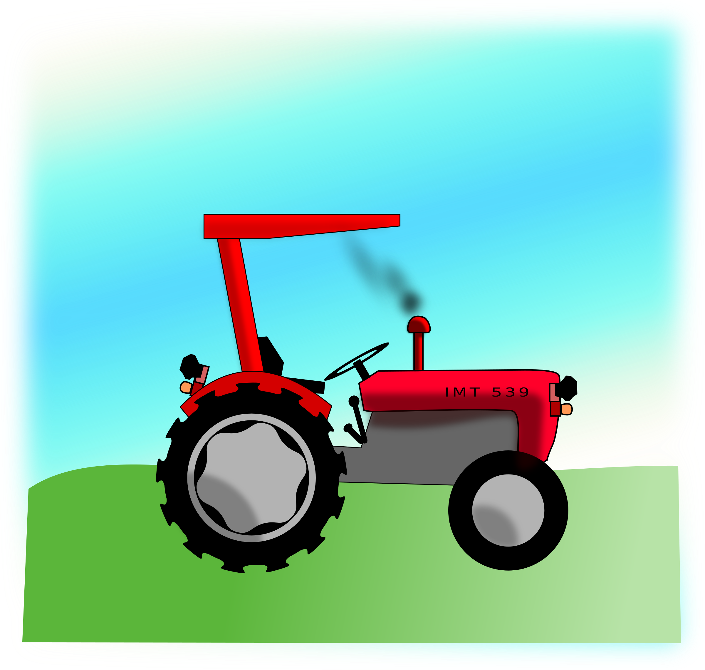 Tractor by GDJ