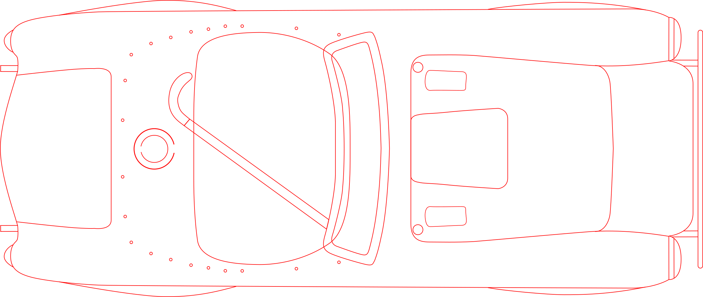 Shelby Cobra blueprint by Anonymous