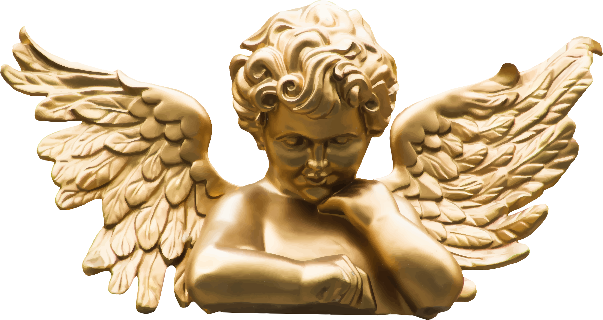 Golden Cherub by GDJ