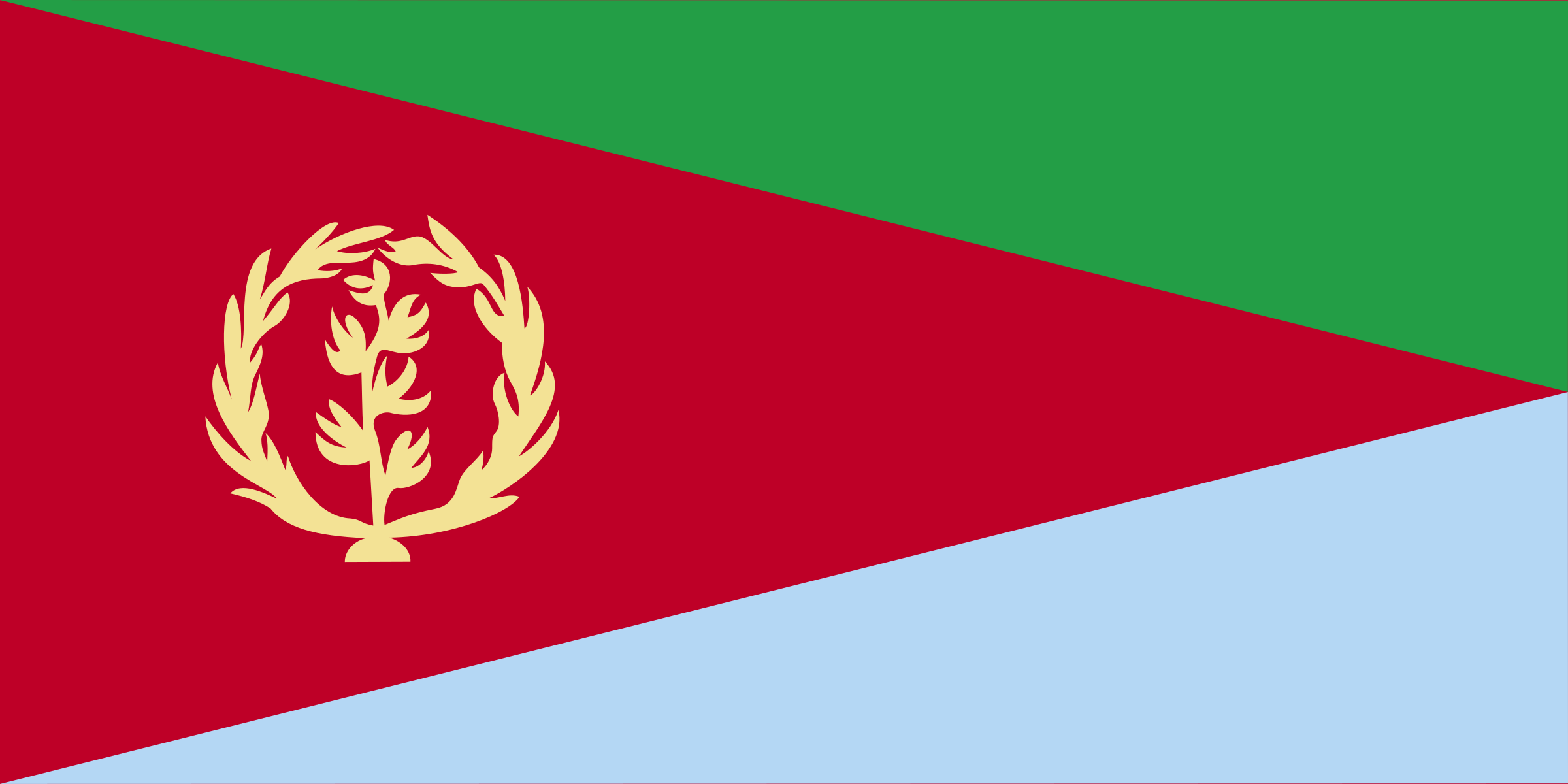 Flag of Eritrea by andrewduhan