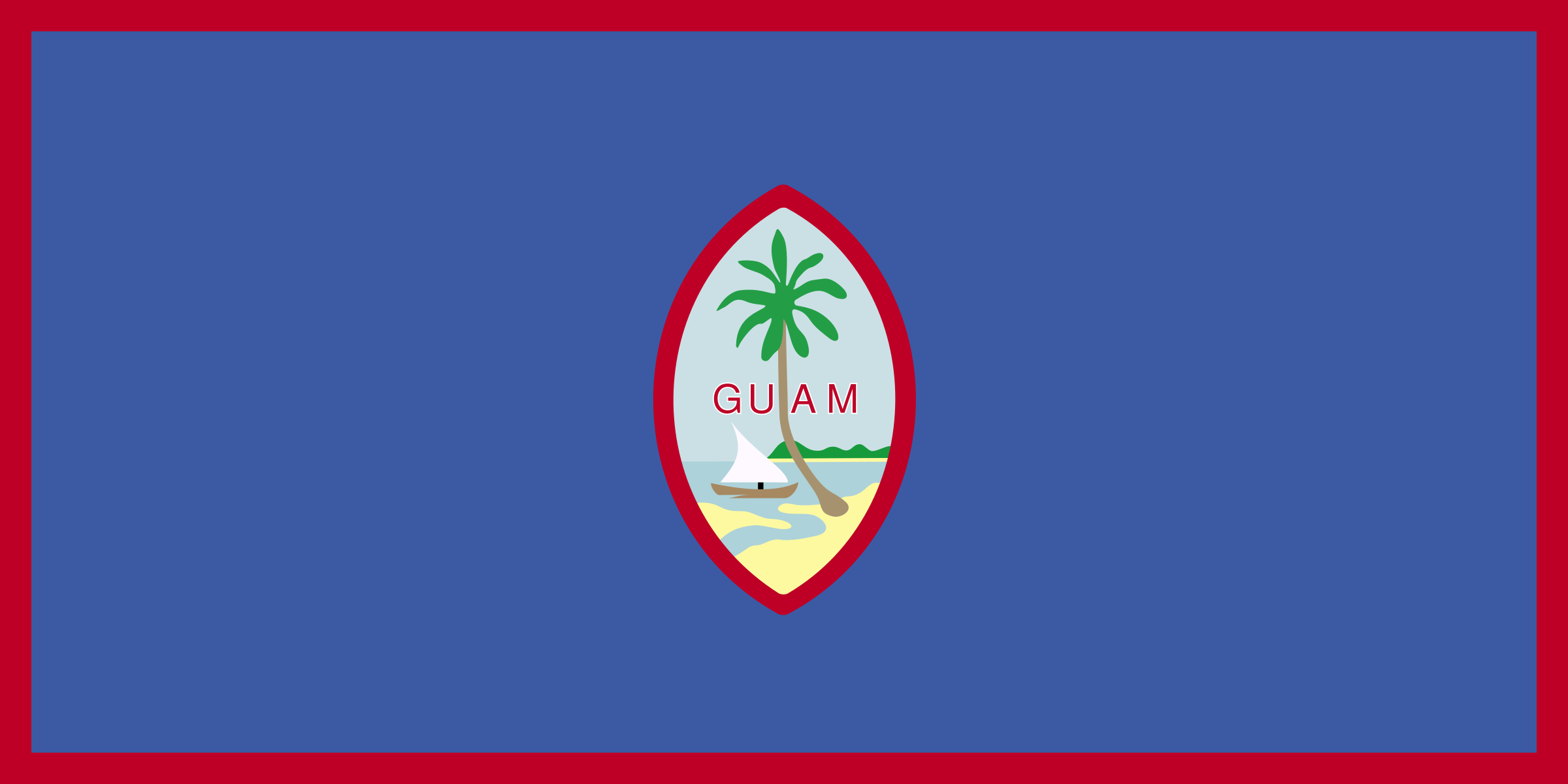 Flag of Guam by andrewduhan
