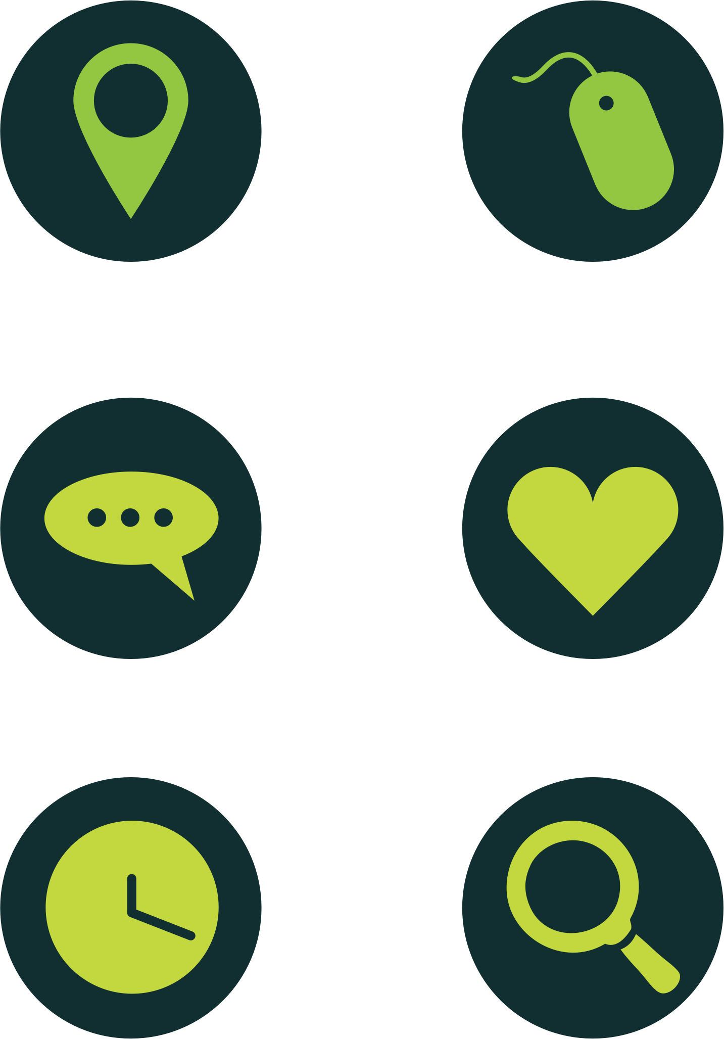 Green Icons by intergrapher