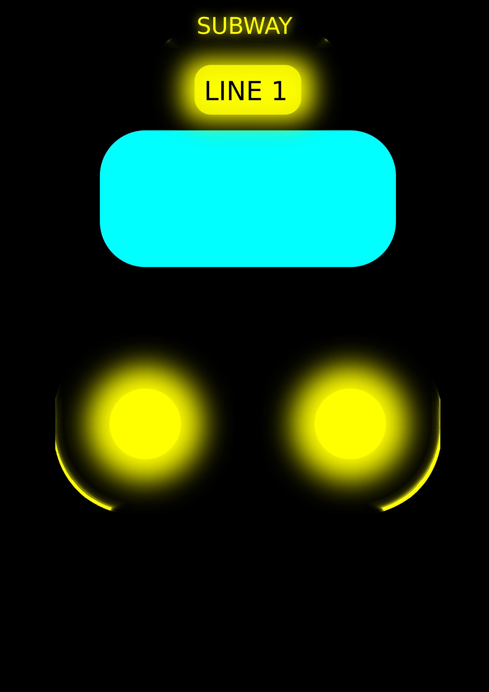 Clipart - Subway 3 Subway Vector