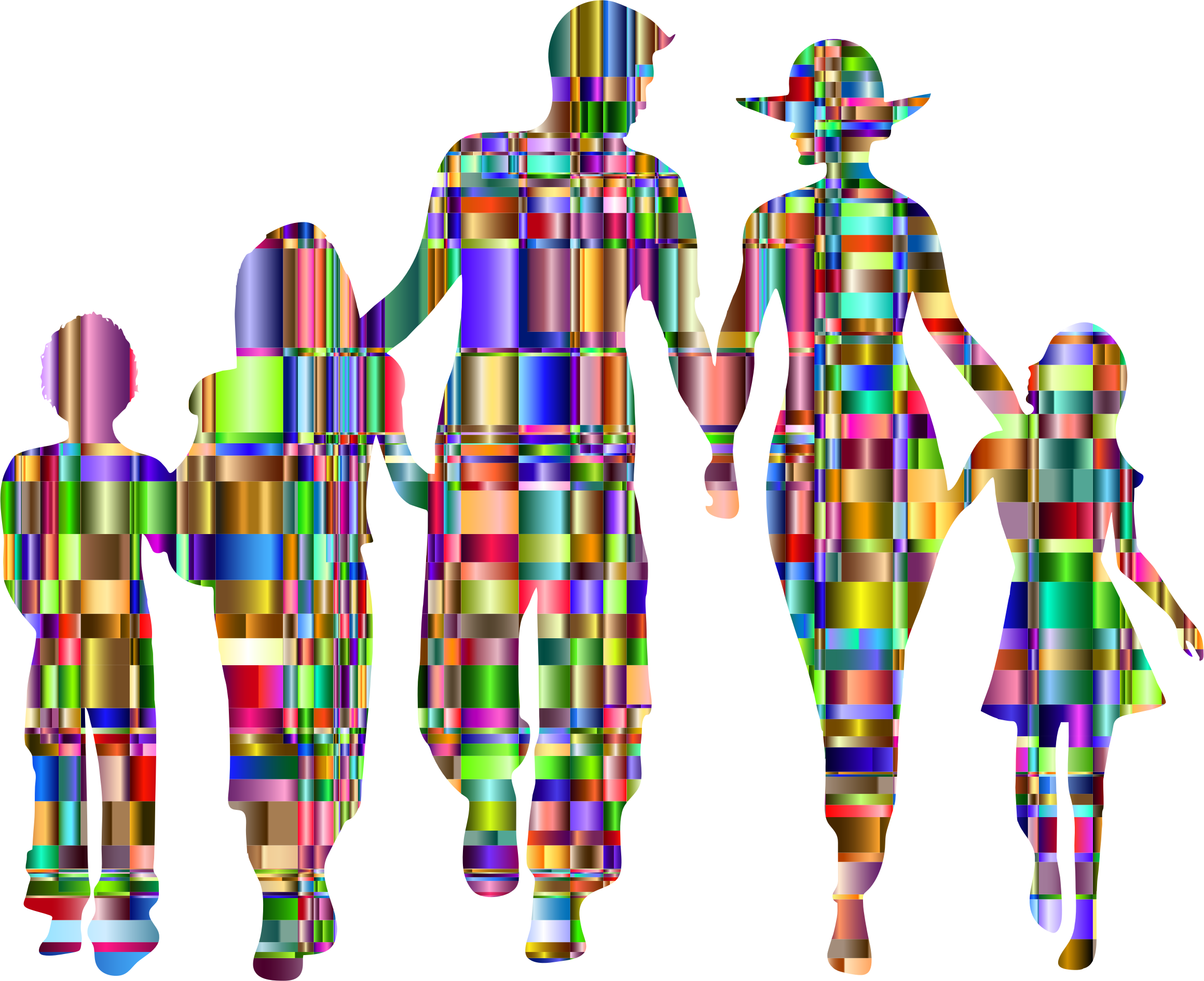 Checkered Chromatic Family by GDJ