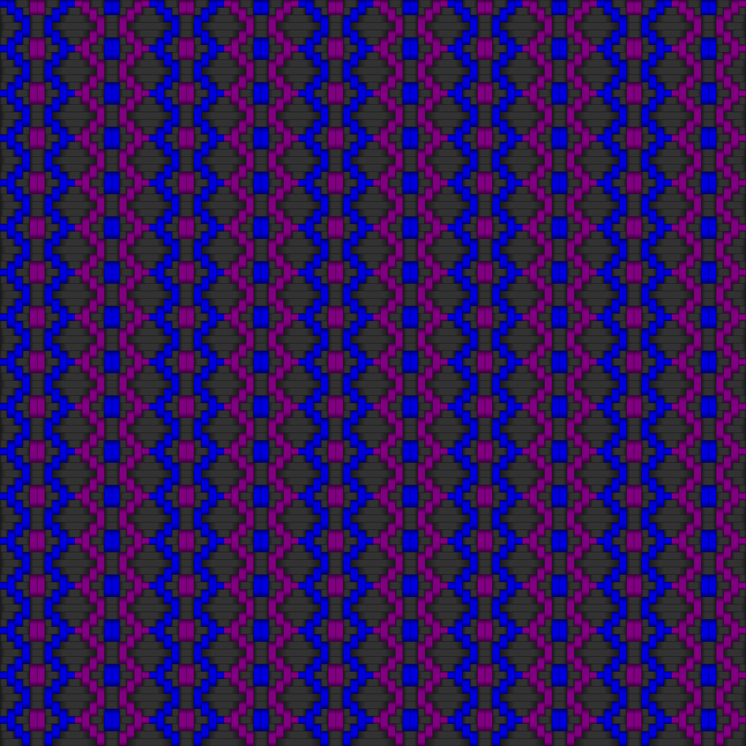 Diamond Woven Fabric 2  Gray Blue Purple by gubrww2