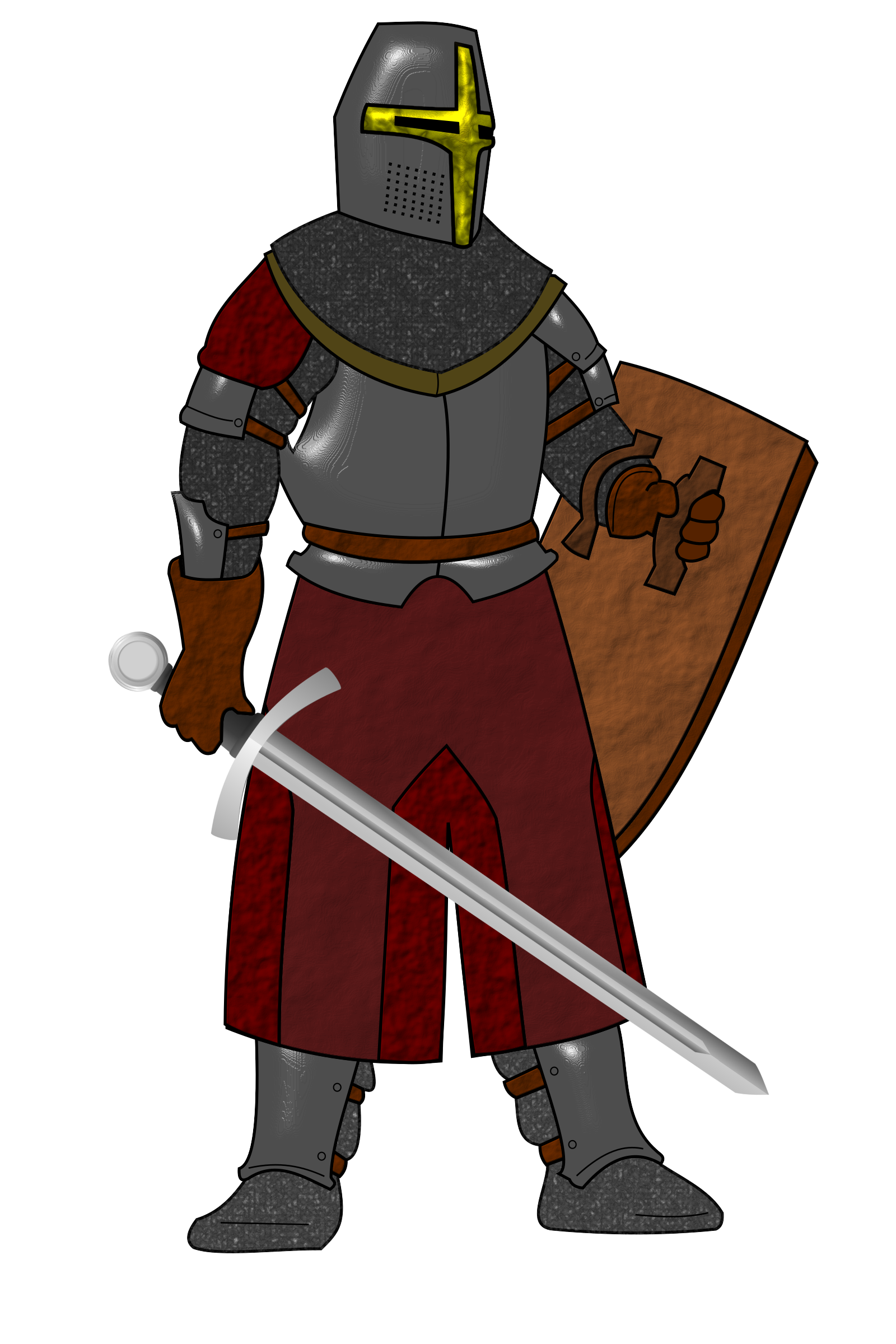Steel plate armor by Flying Dutchman