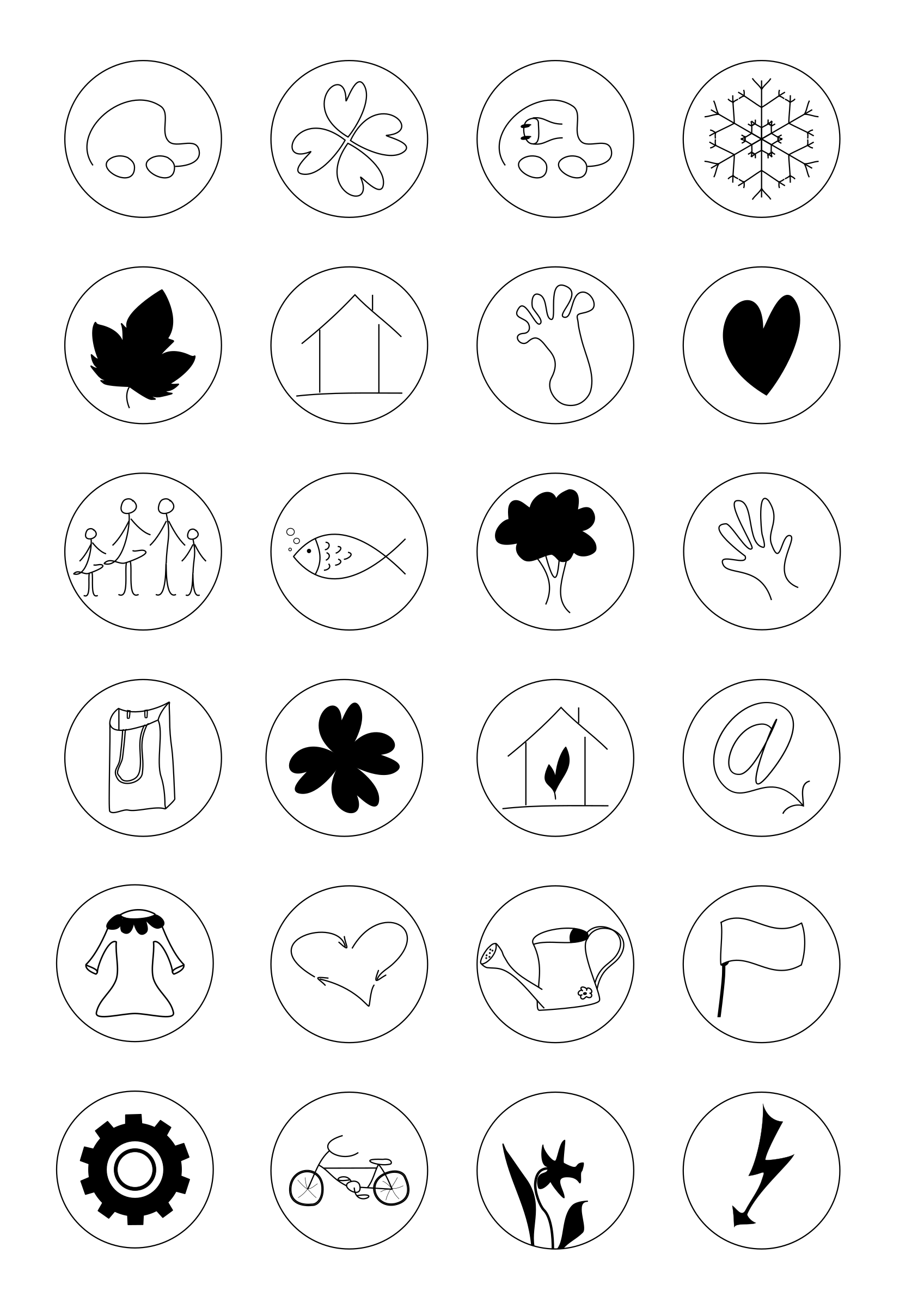 Icon Set by Ana.