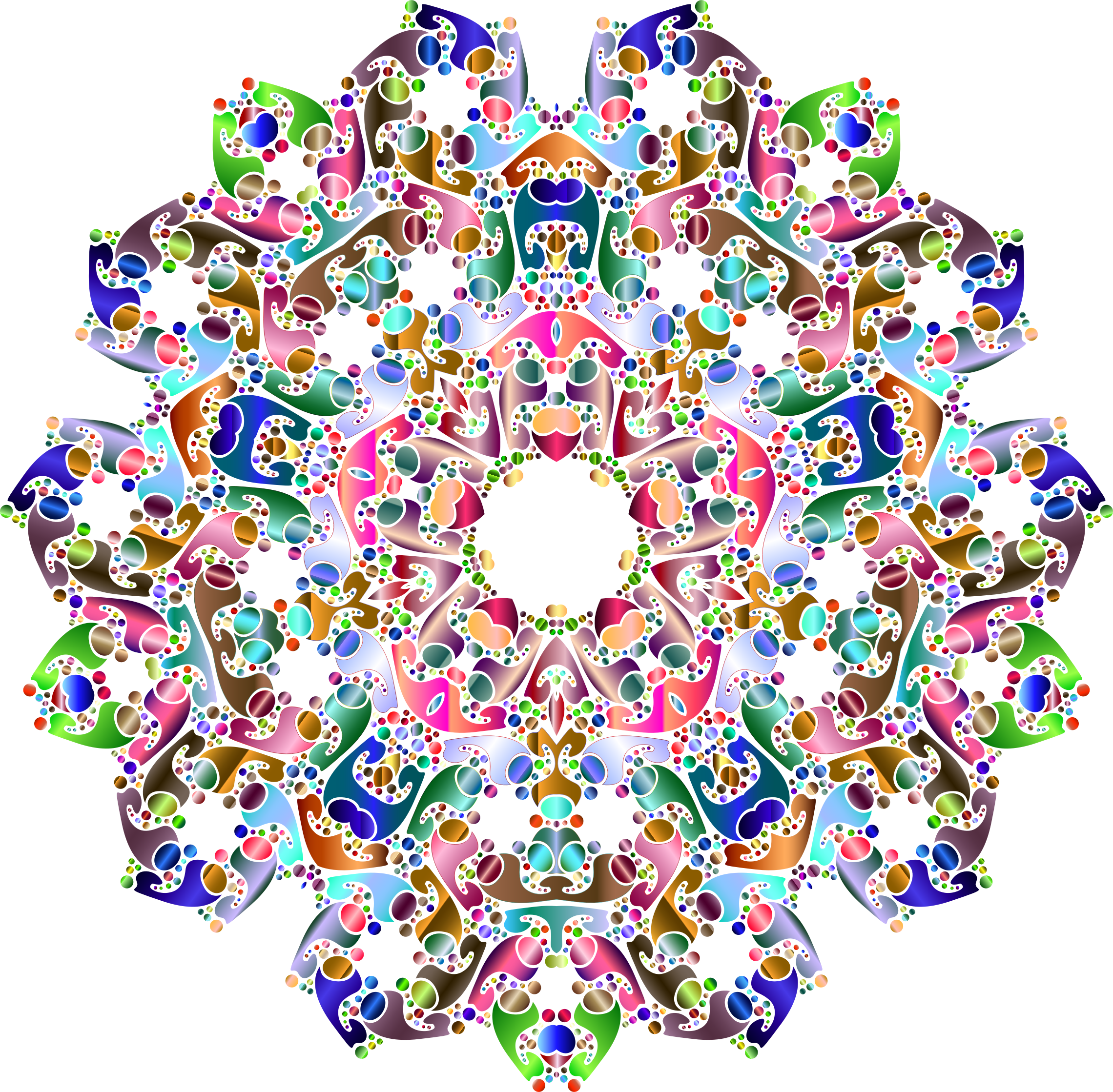 Hexagonal Tessellation Design 3 by GDJ