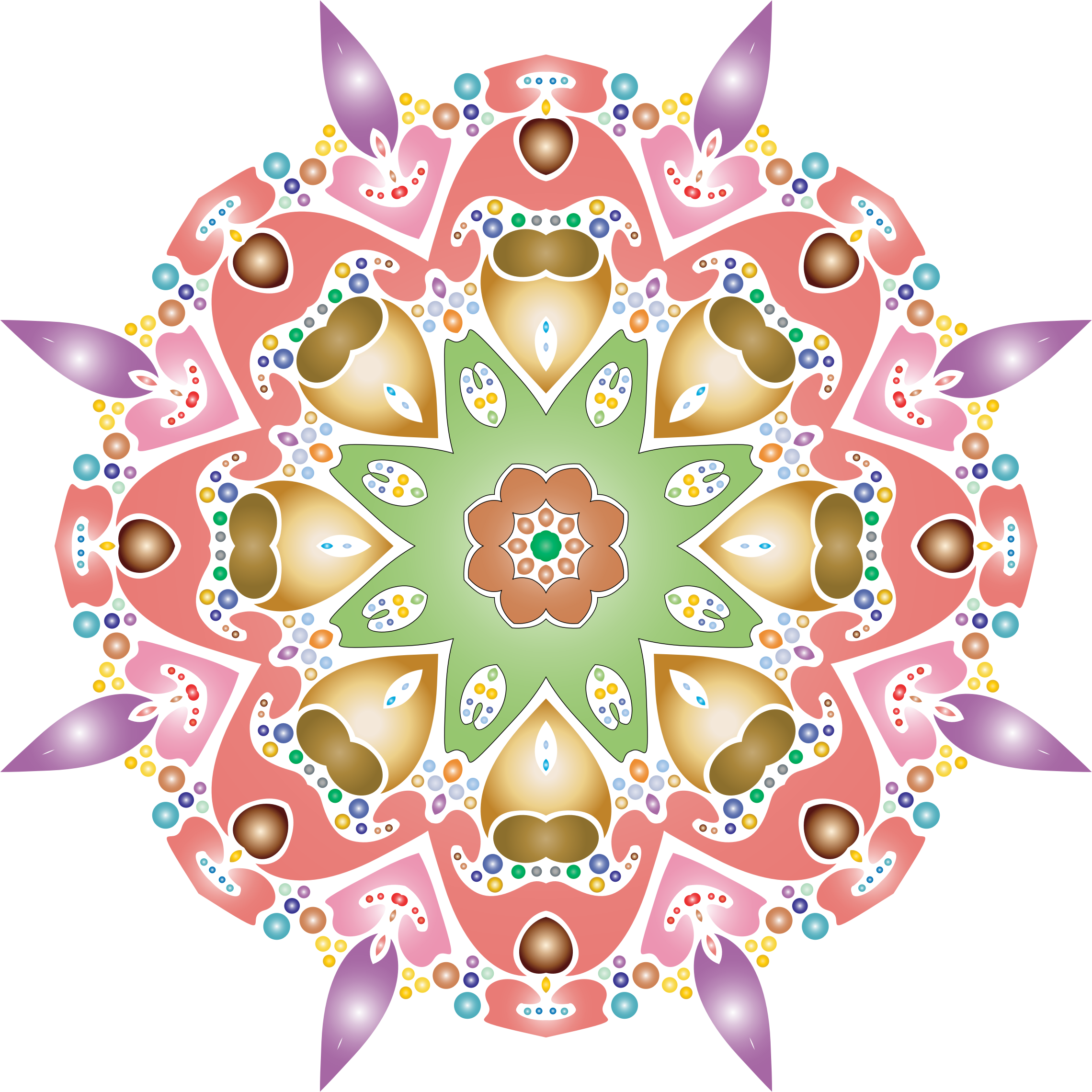 Hexagonal Tessellation Design 8 by GDJ