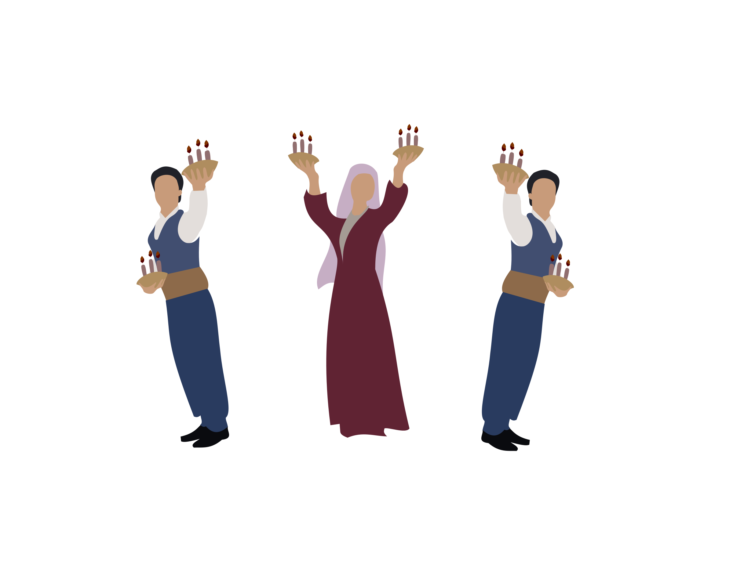 Clipart - Turkish Folk Dance Cayda Cira