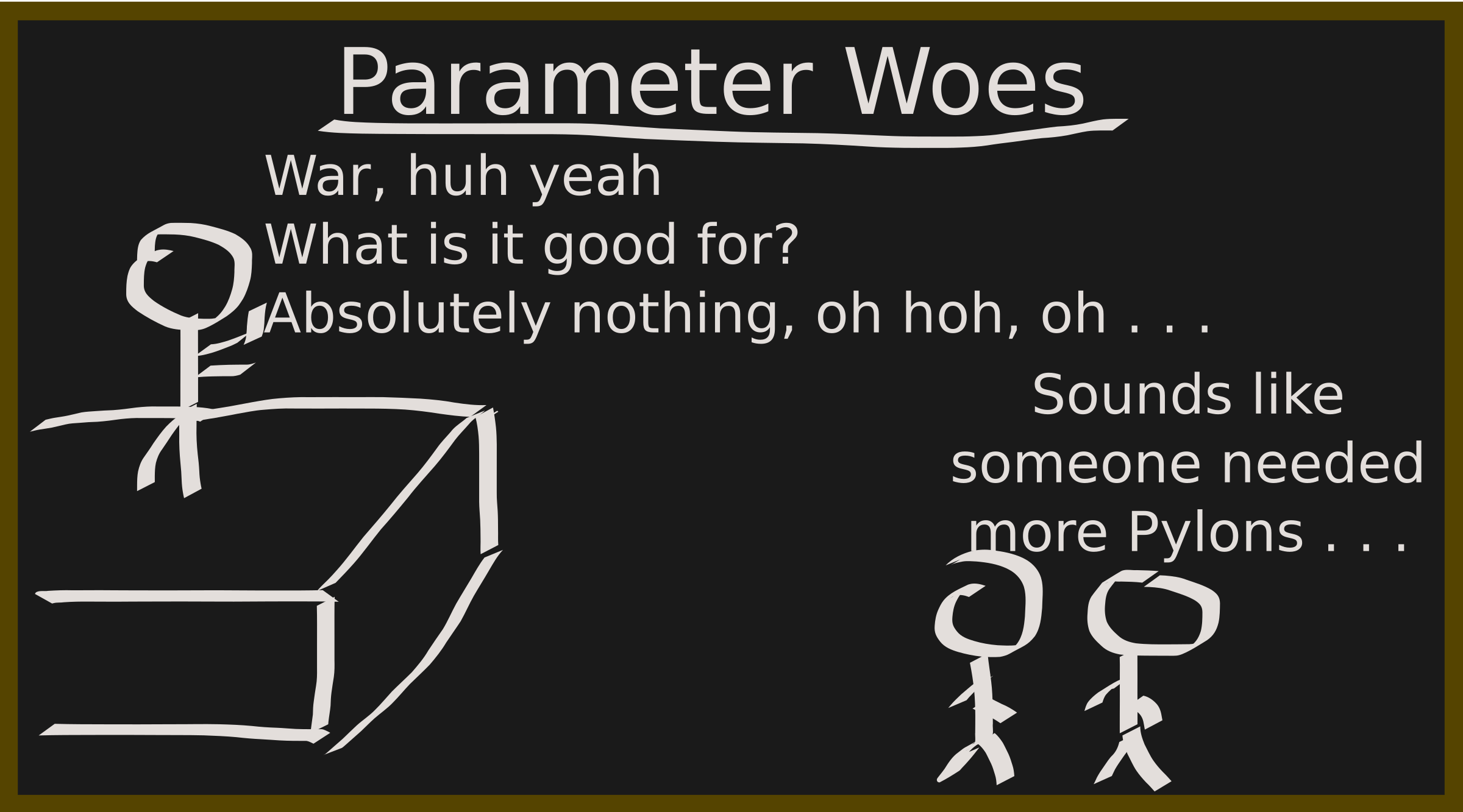 CS Parameter Joke by pjhanzlik
