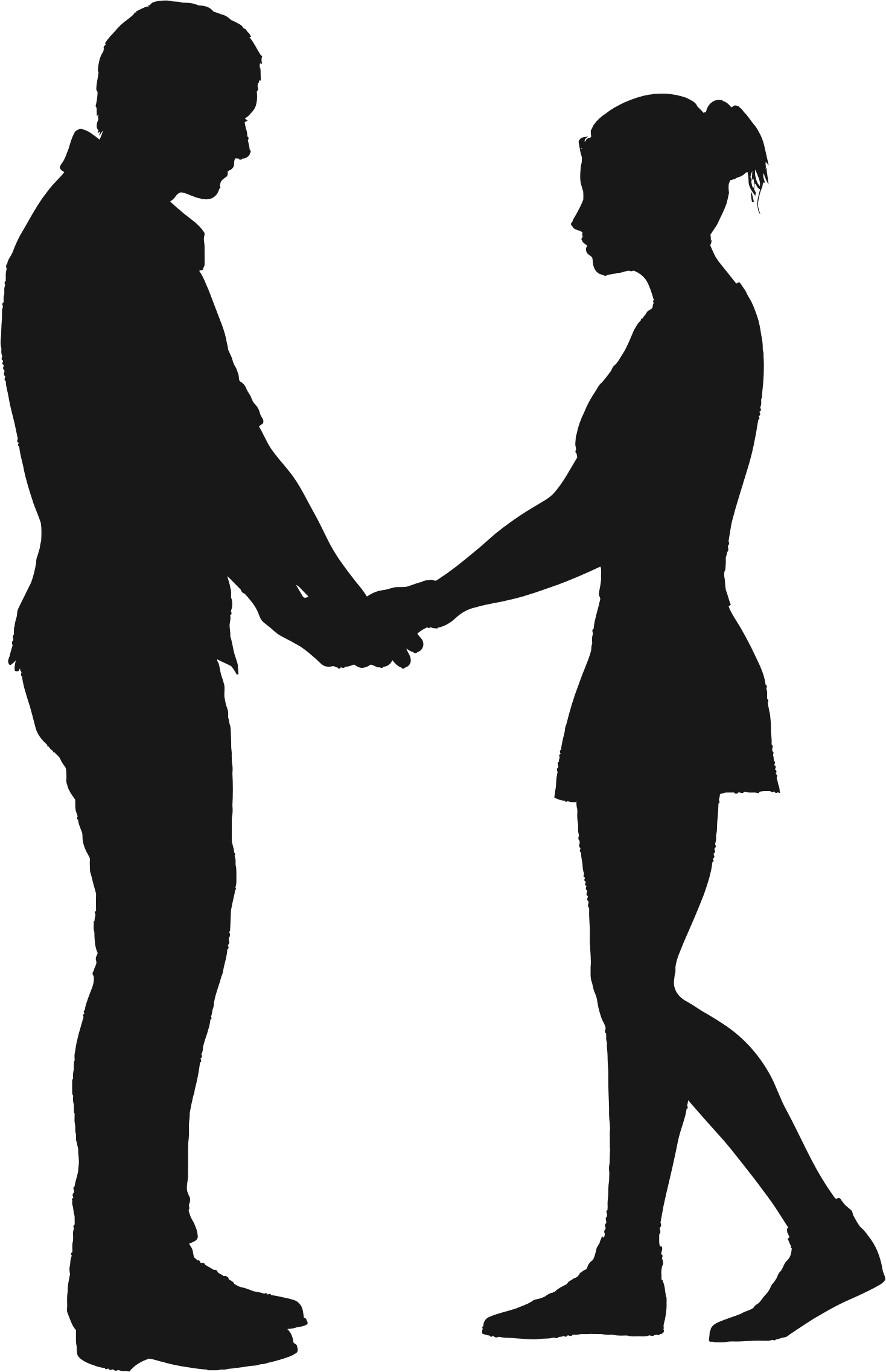 Couple Silhouette 6 by GDJ