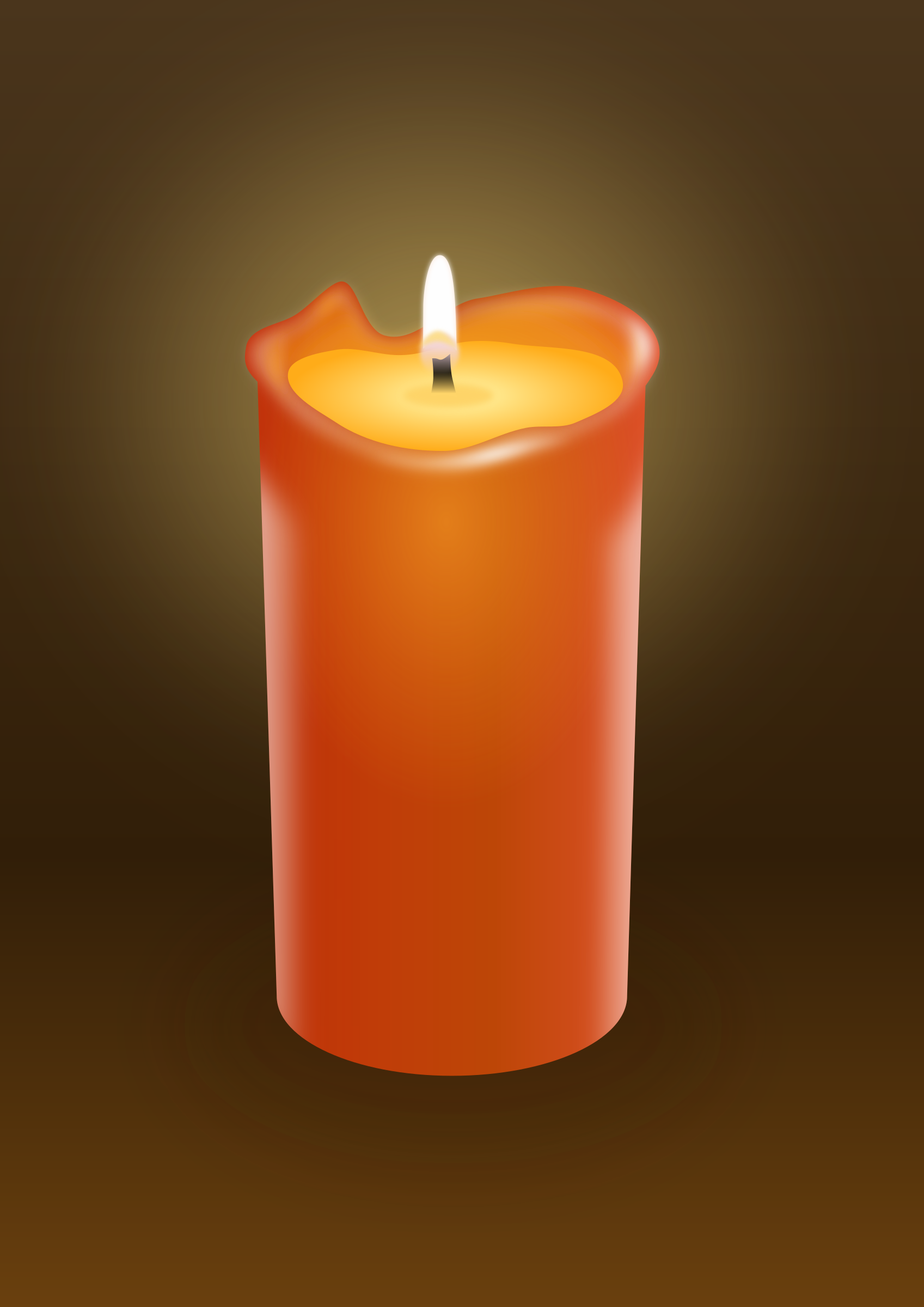 Candle by Tomas Sobek